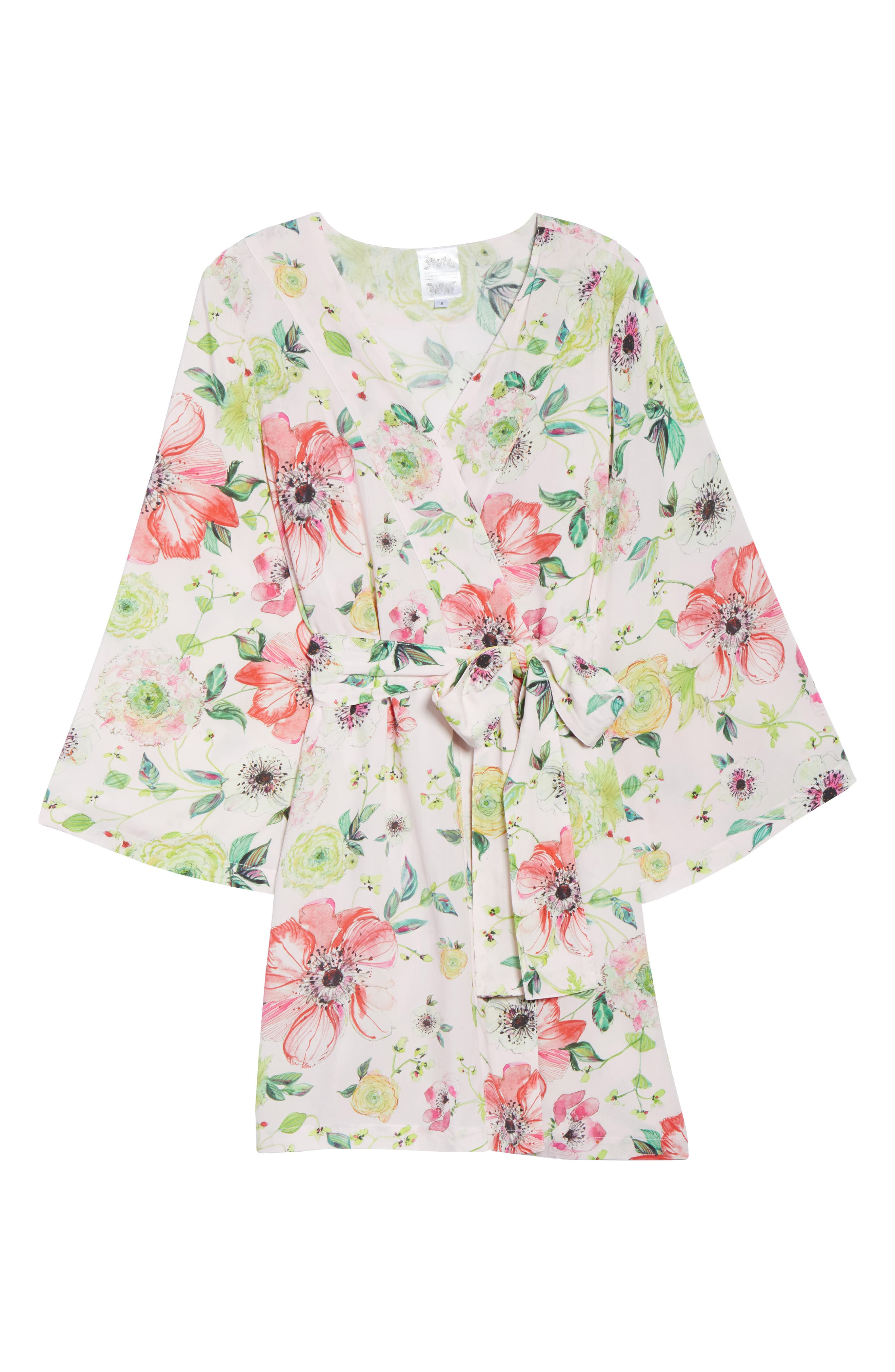 Pretty Plum Sugar Knee-Length Robe,                             Alternate thumbnail 12, color,