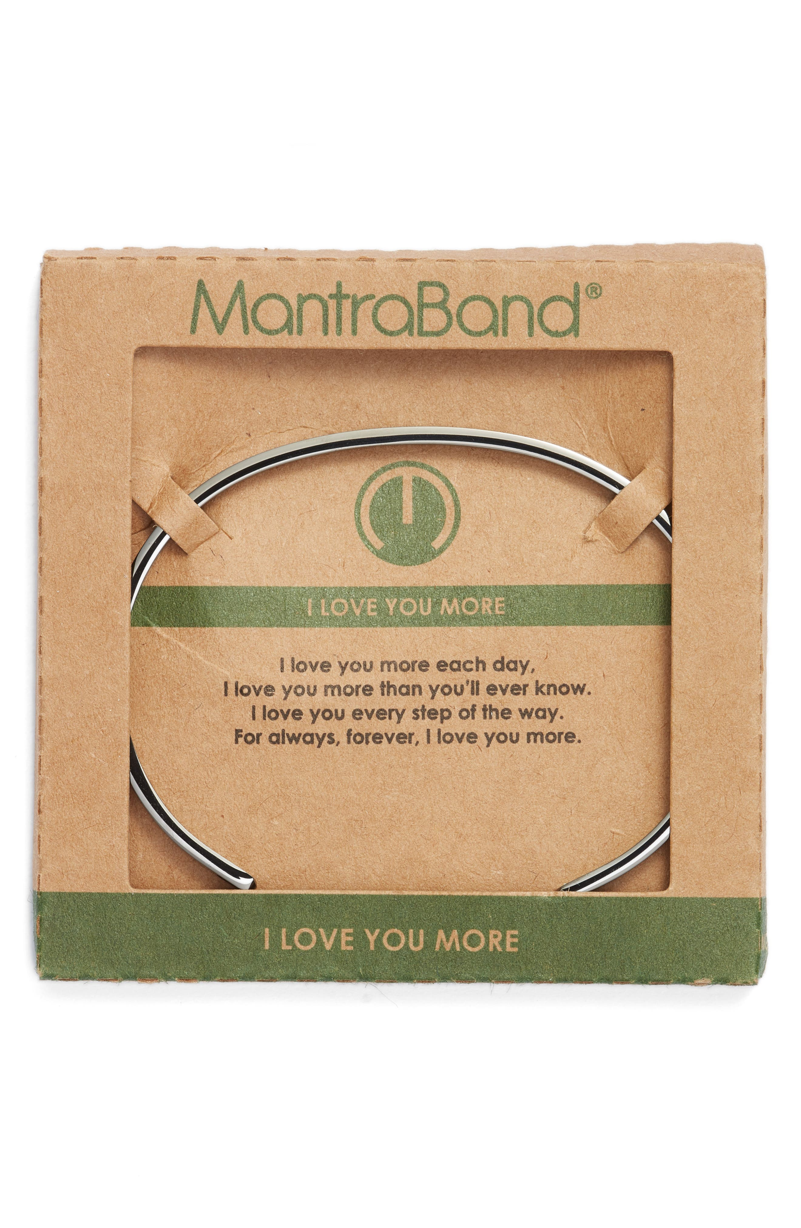 MantraBand I Love You More Engraved Cuff,                             Alternate thumbnail 2, color,                             021