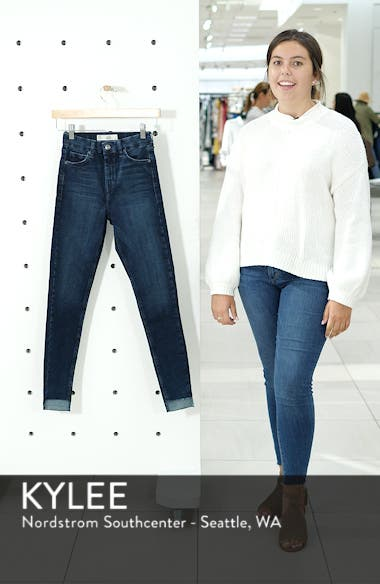 Jamie Step Hem Skinny Jeans, sales video thumbnail