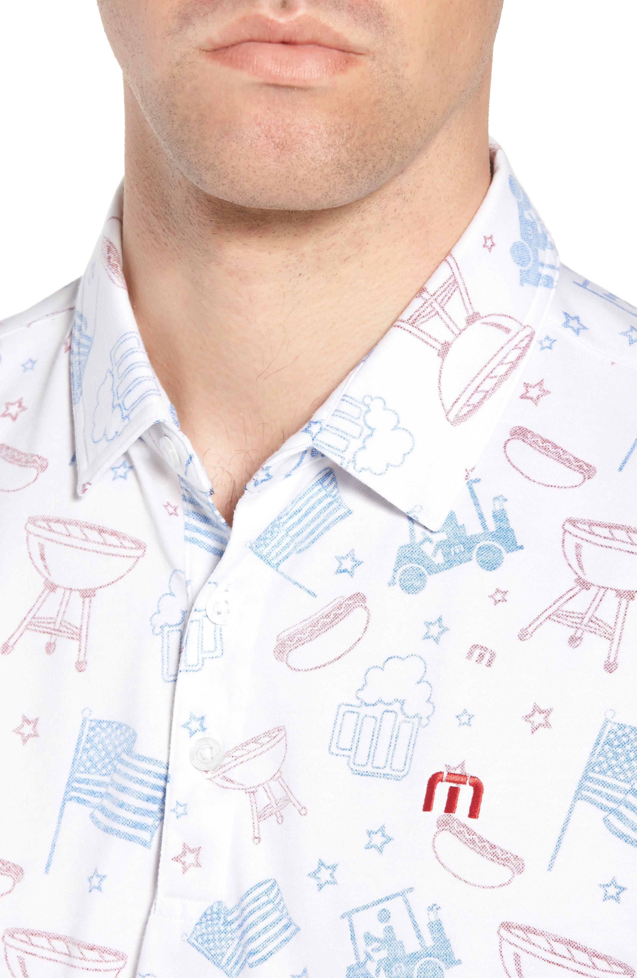 Ahh Yeah Regular Fit Short Sleeve Sport Shirt,                             Alternate thumbnail 4, color,