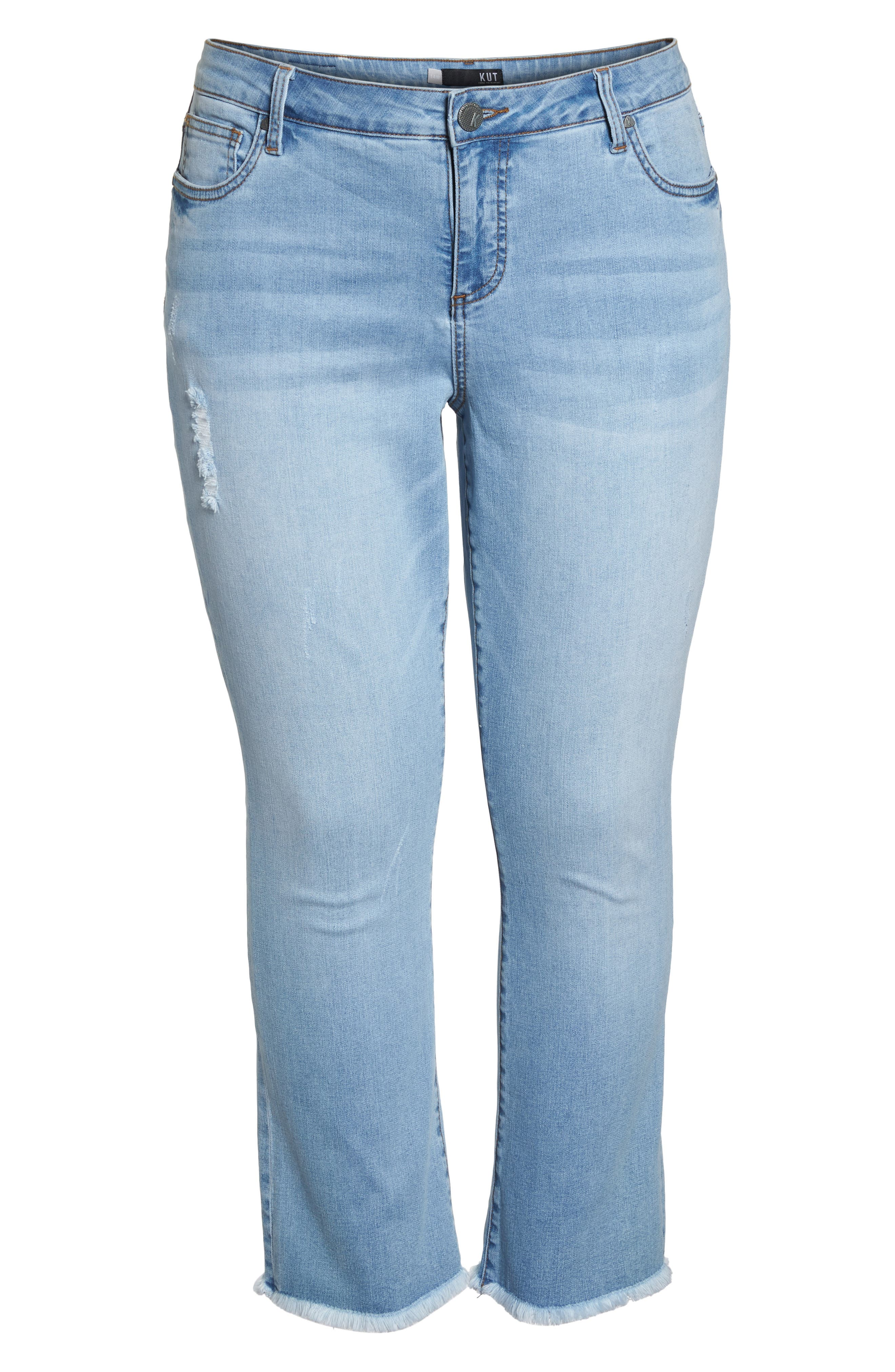 Stella Kick Flare Jeans,                             Alternate thumbnail 7, color,                             COMPETED