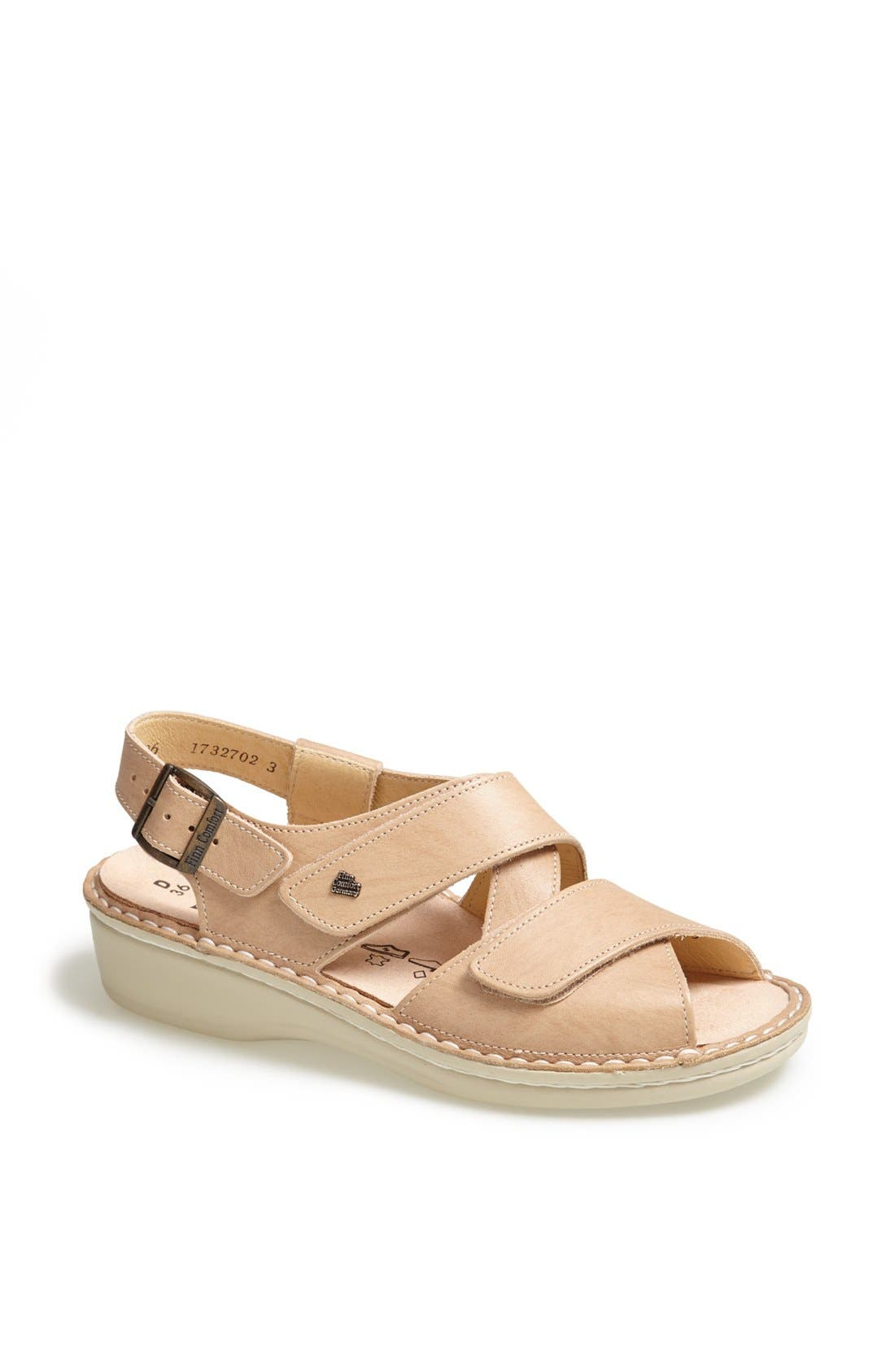 'Jersey' Sandal,                             Main thumbnail 1, color,