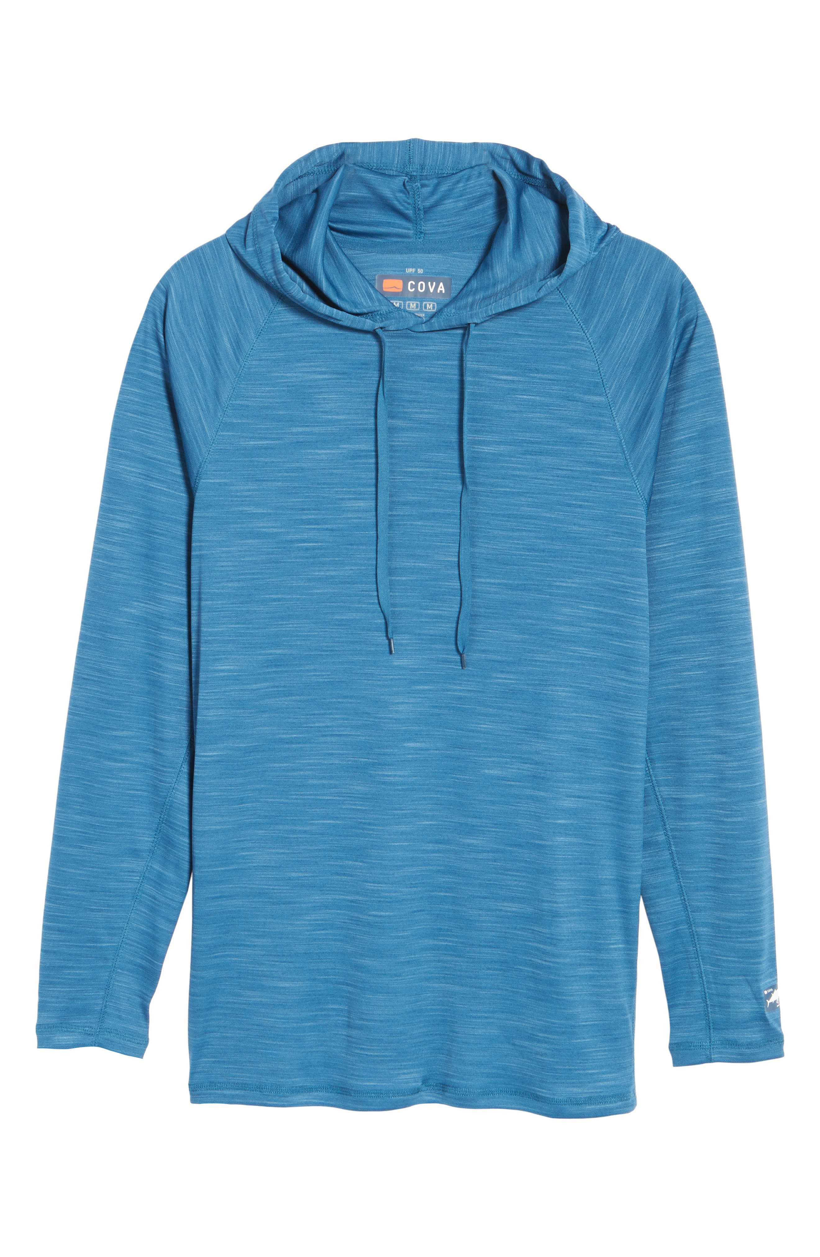 Undercover Hooded Long Sleeve Performance T-Shirt,                             Alternate thumbnail 12, color,