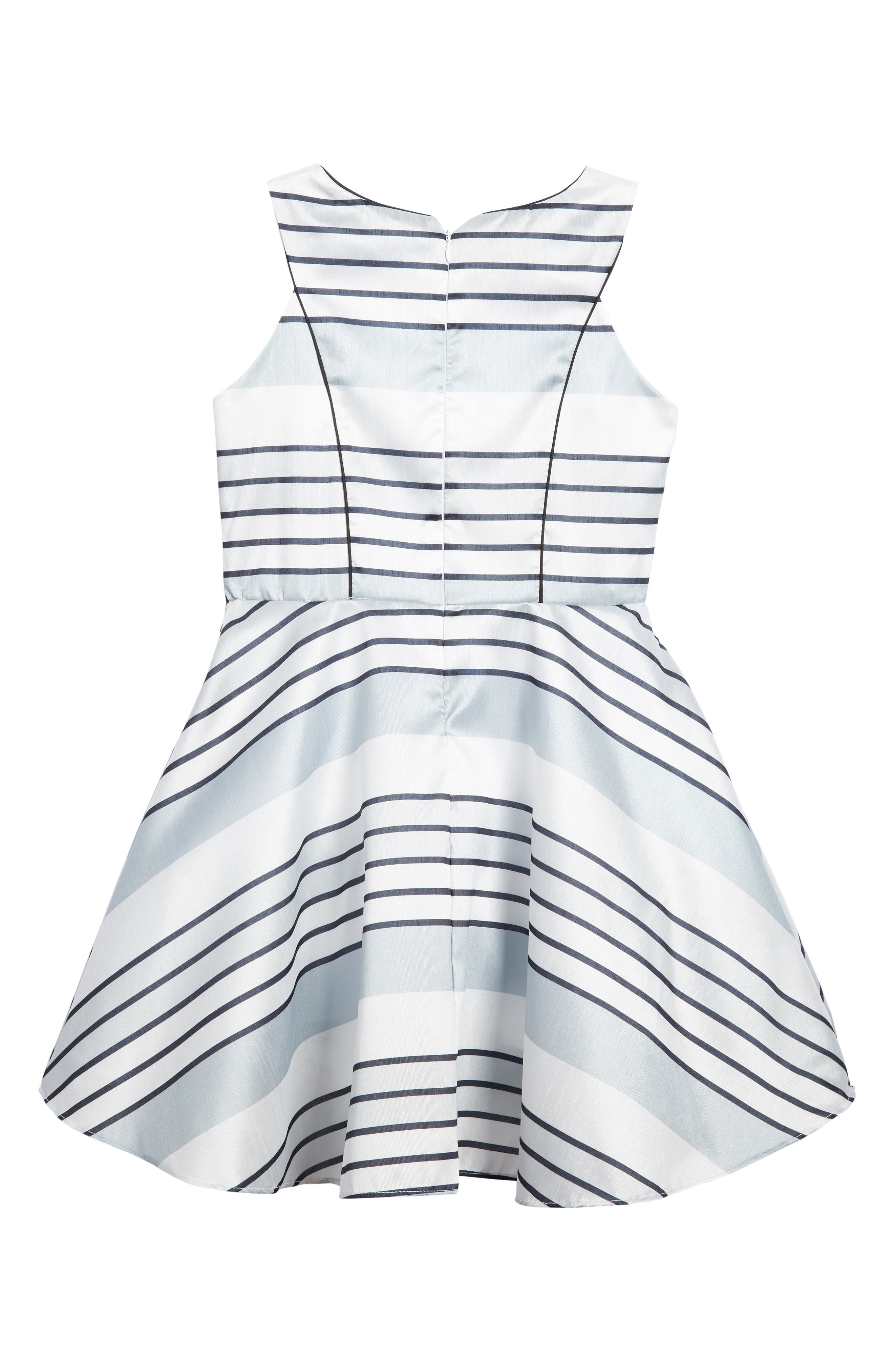 Stripe Dress,                             Alternate thumbnail 2, color,                             040