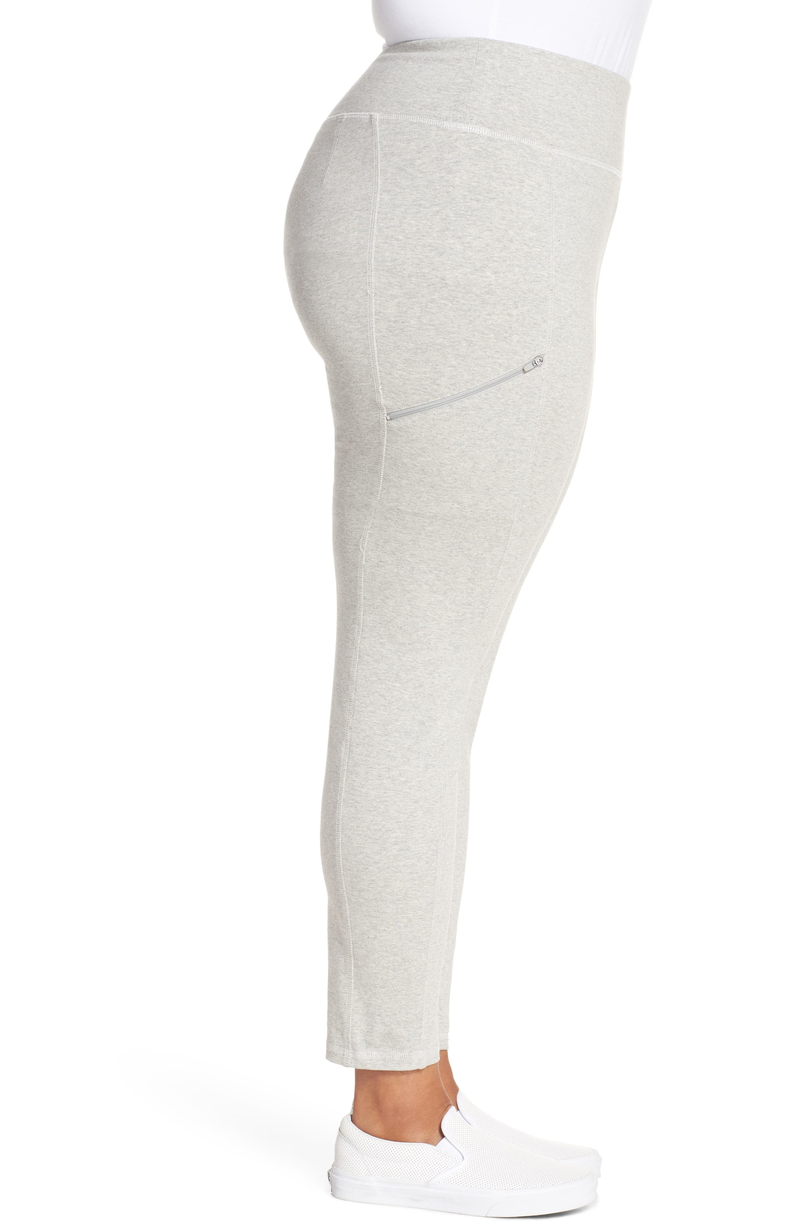 Stretch Organic Cotton Skinny Pants,                             Alternate thumbnail 3, color,                             020