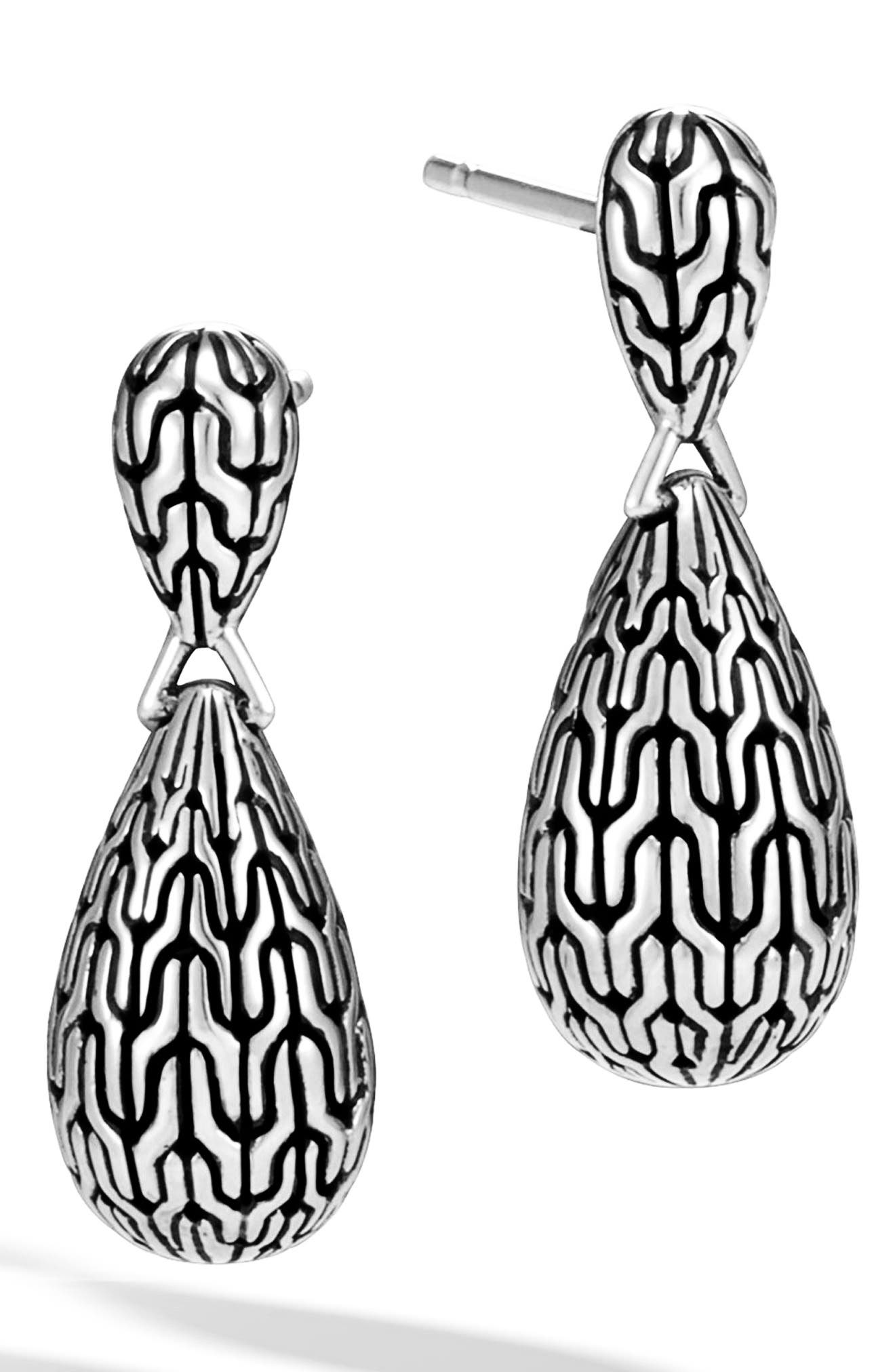 Classic Chain Drop Earrings,                             Main thumbnail 1, color,                             040
