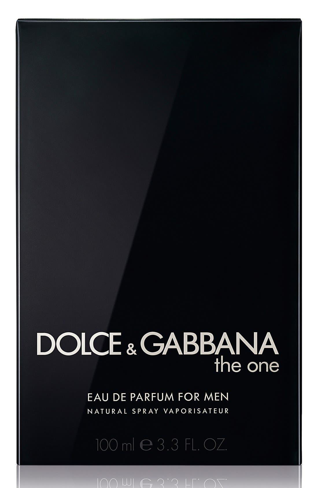 'The One for Men' Eau de Parfum,                             Alternate thumbnail 2, color,                             NO COLOR