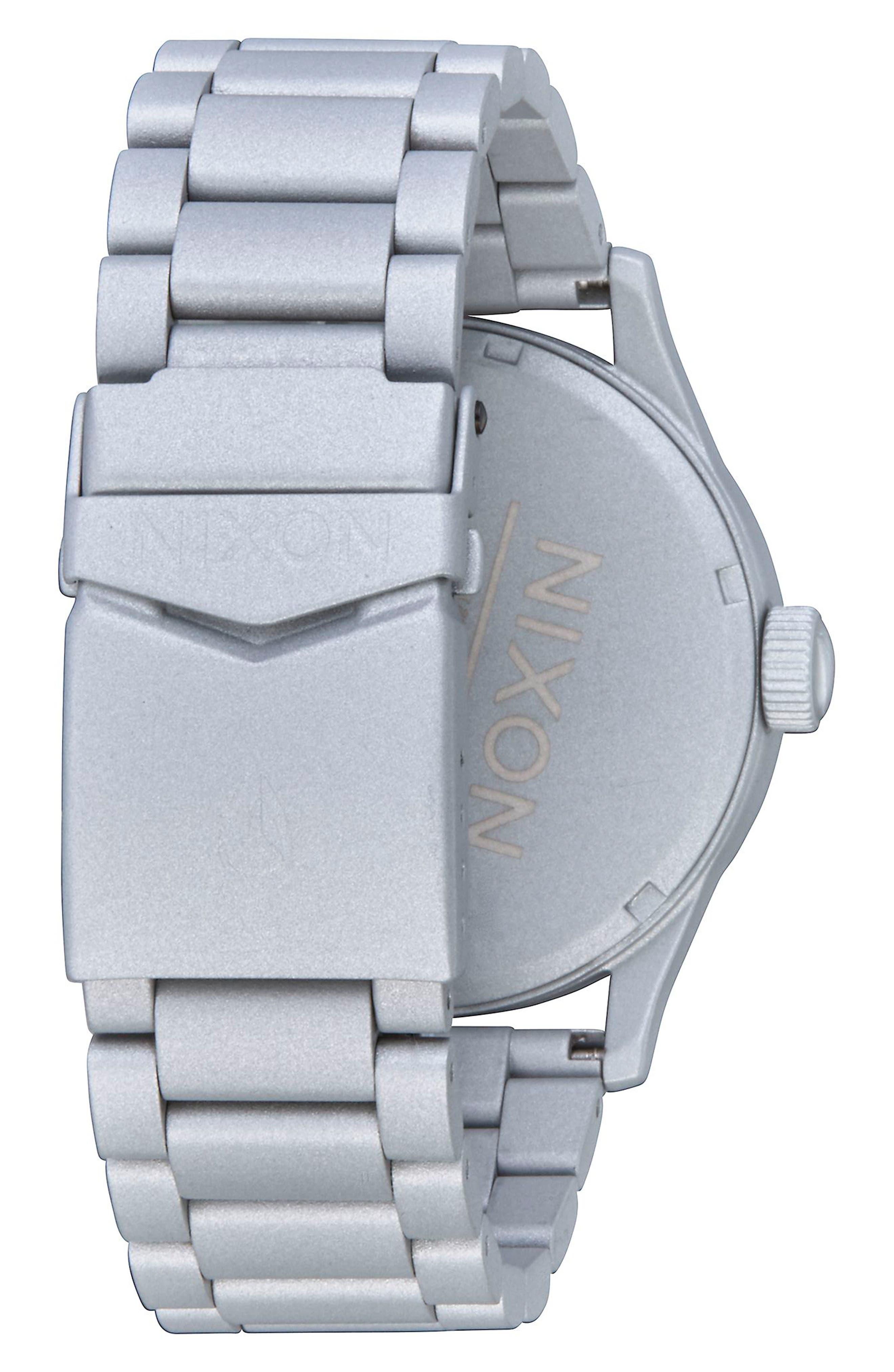 Sentry Bracelet Watch, 42mm,                             Alternate thumbnail 7, color,
