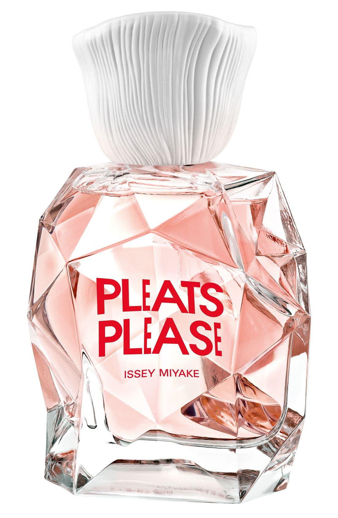 'Pleats Please' Eau de Toilette,                             Main thumbnail 1, color,                             000