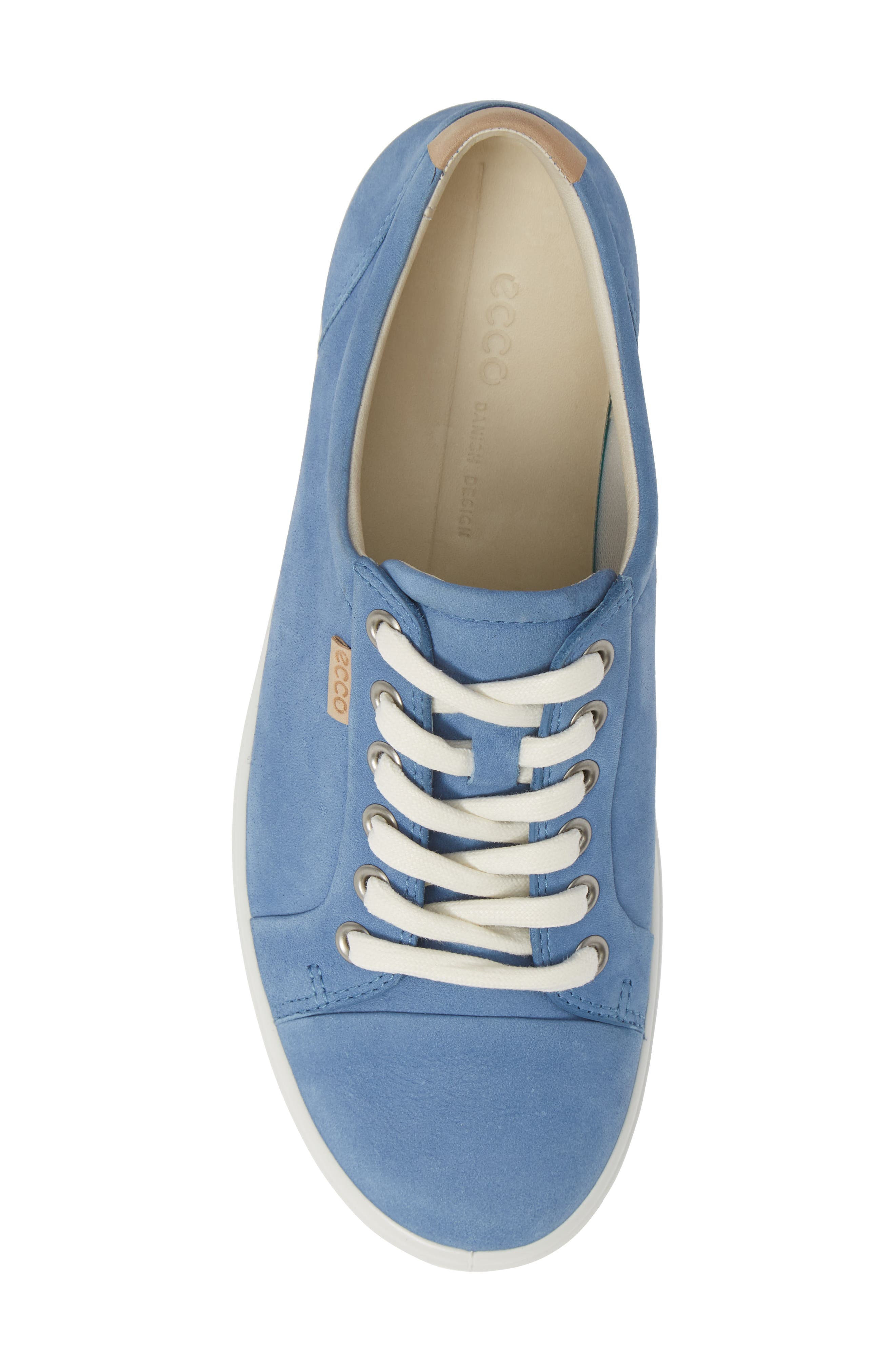 Soft 7 Sneaker,                             Alternate thumbnail 5, color,                             RETRO BLUE LEATHER