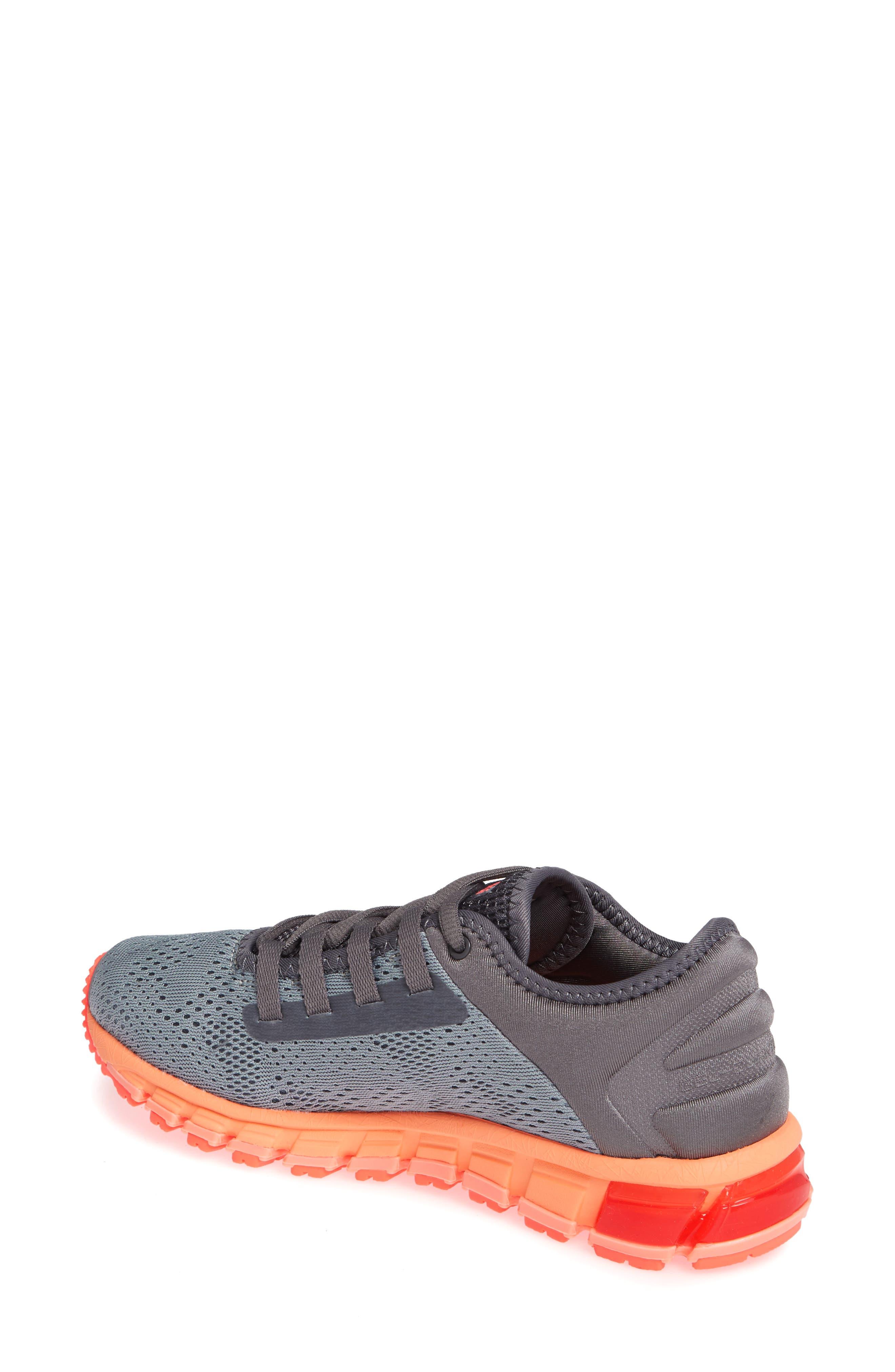 GEL Quantum 180 3 Running Shoe,                             Alternate thumbnail 2, color,                             STONE GREY/ CARBON