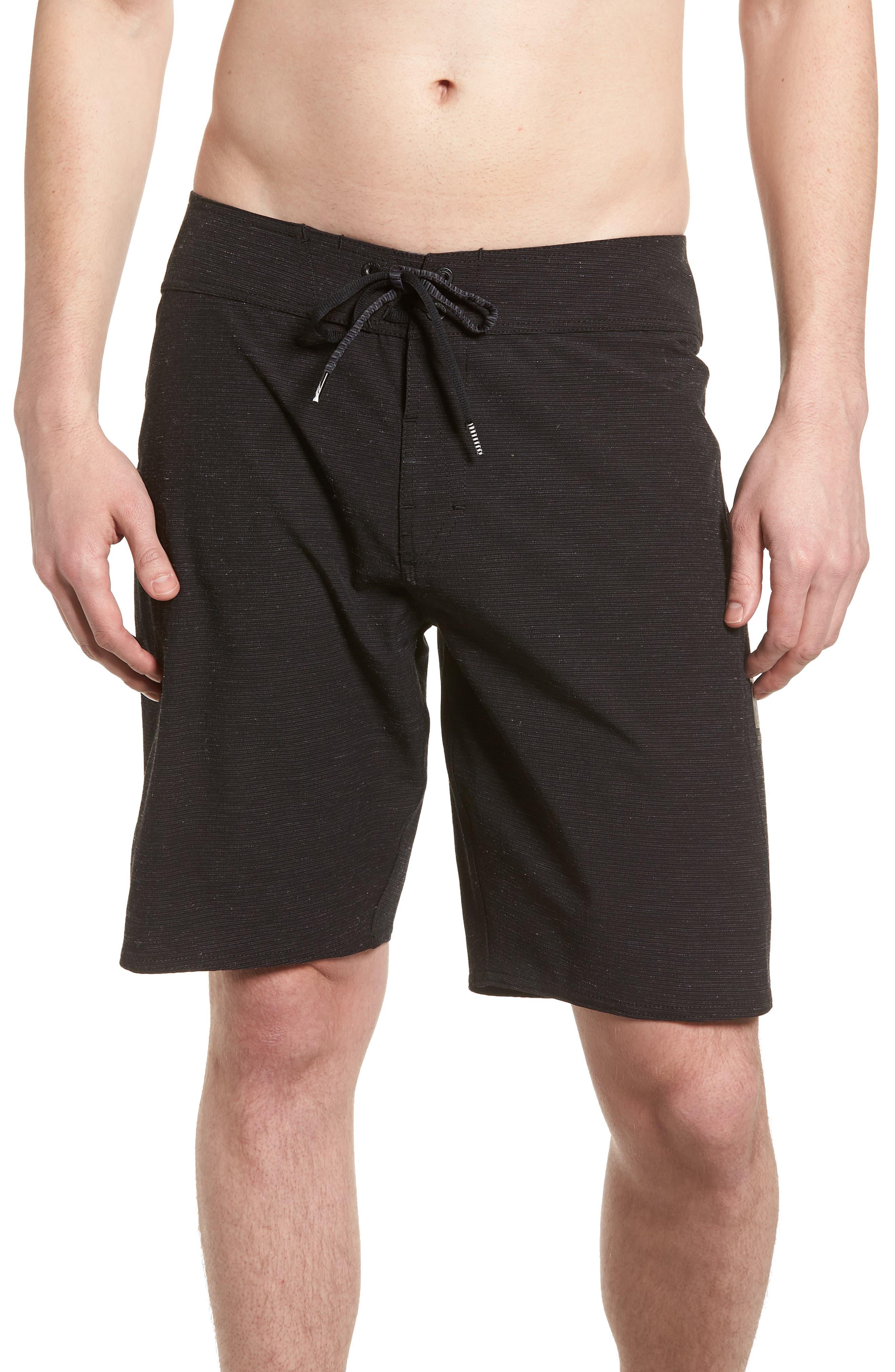Lido Slub Modern Board Shorts,                         Main,                         color, 001