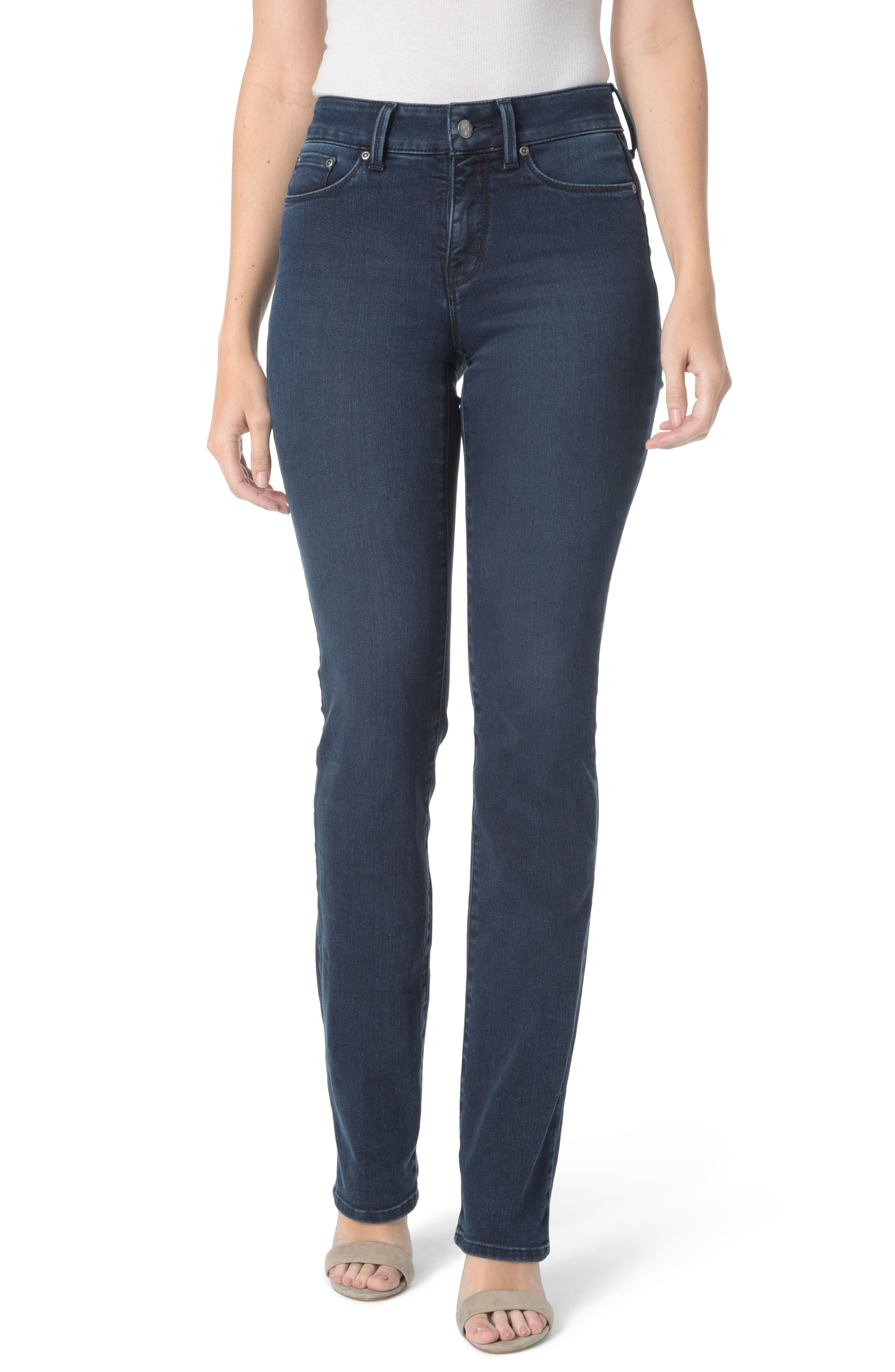 Marilyn Stretch Straight Leg Jeans,                             Main thumbnail 1, color,                             409