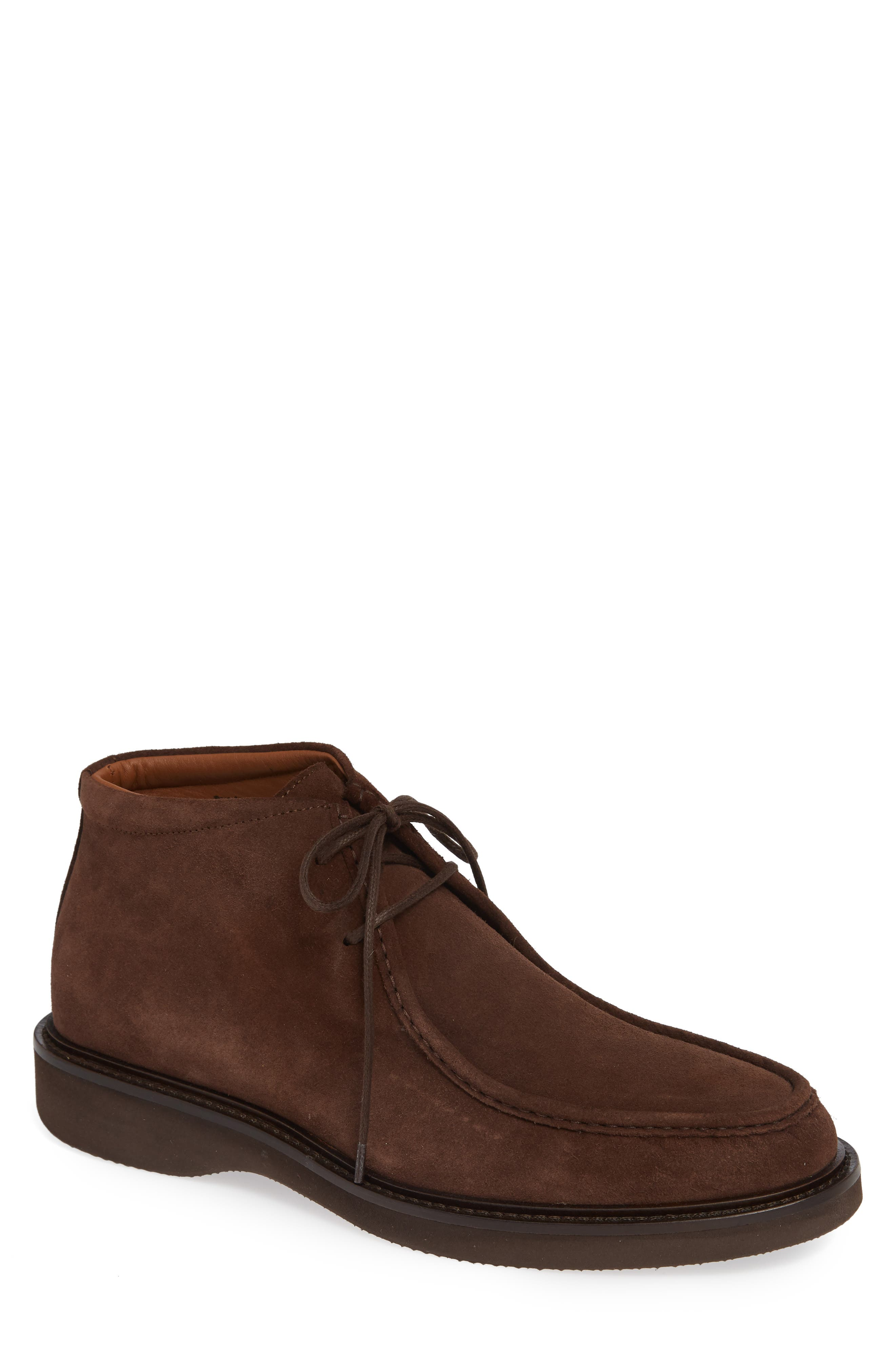 Aquatalia Kyle Water Resistant Chukka Boot, Brown