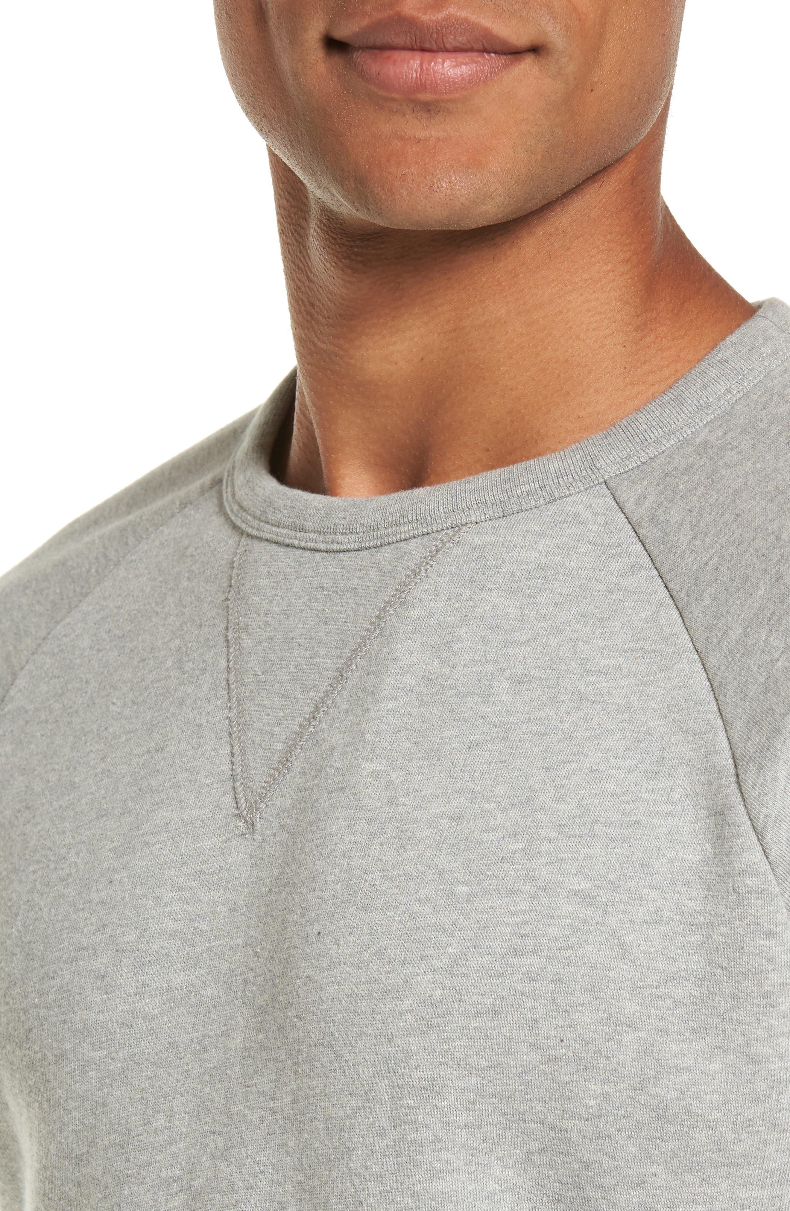 Multi Mélange Colorblock Sweatshirt,                             Alternate thumbnail 4, color,                             033