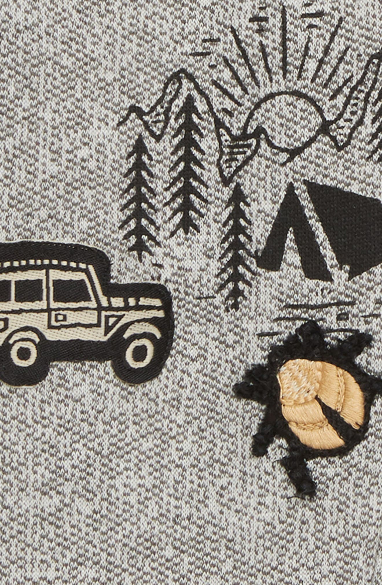 Mason Knit Jogger Pants,                             Alternate thumbnail 3, color,                             GREY HEATHER