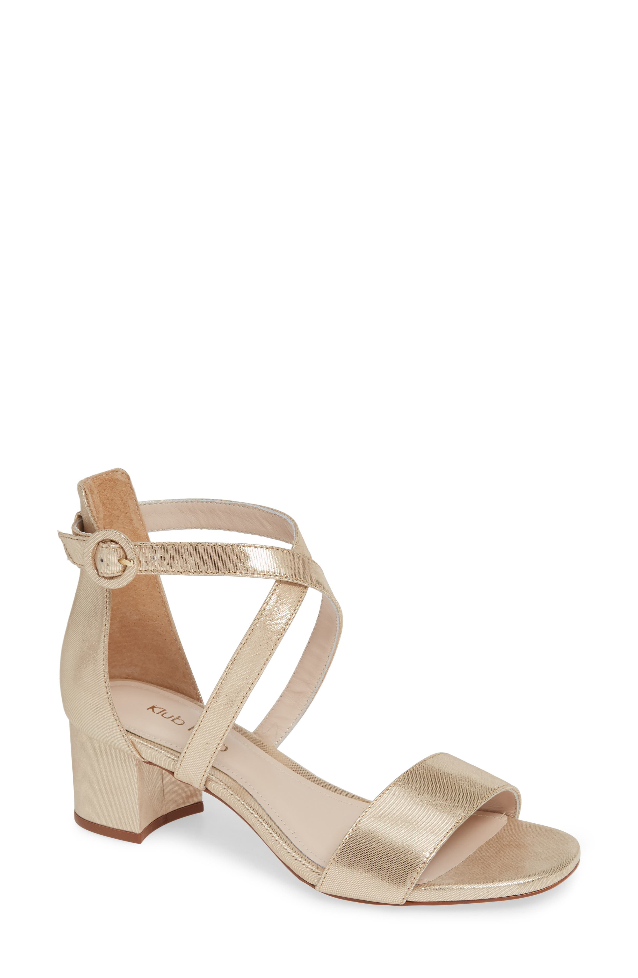 Raeyna Sandal,                             Main thumbnail 1, color,                             CHAMPAGNE LEATHER