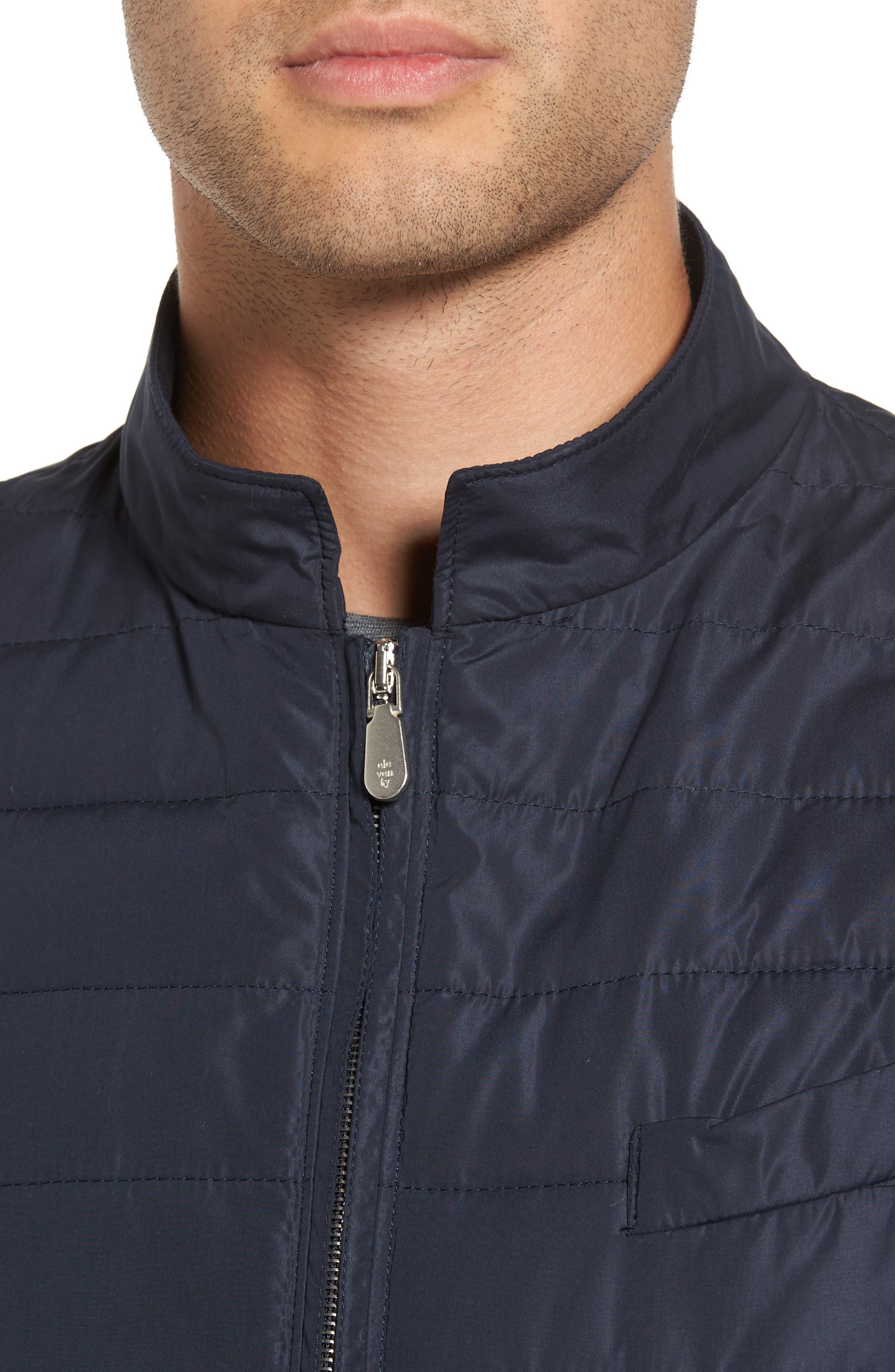 Full Zip Vest,                             Alternate thumbnail 4, color,                             NAVY