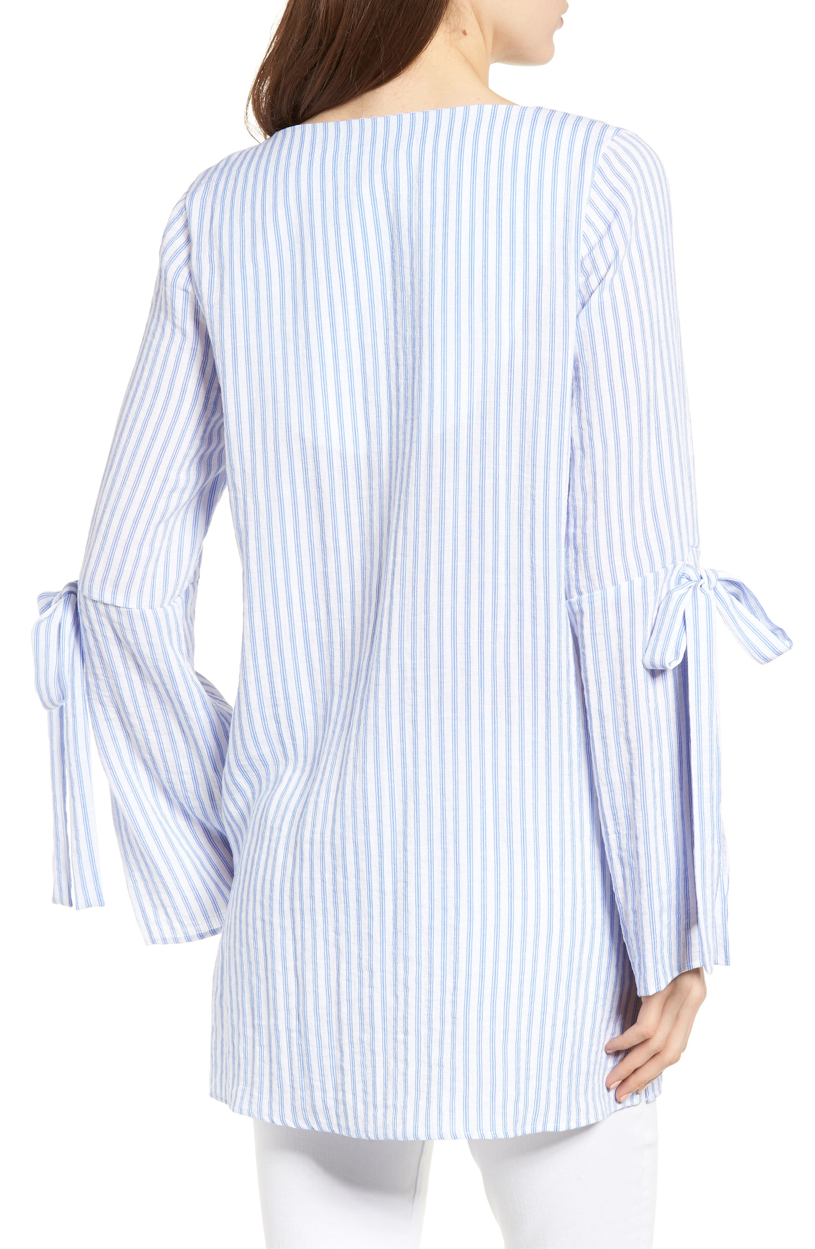 Bishop + Young Stripe Tunic Top,                             Alternate thumbnail 2, color,                             400