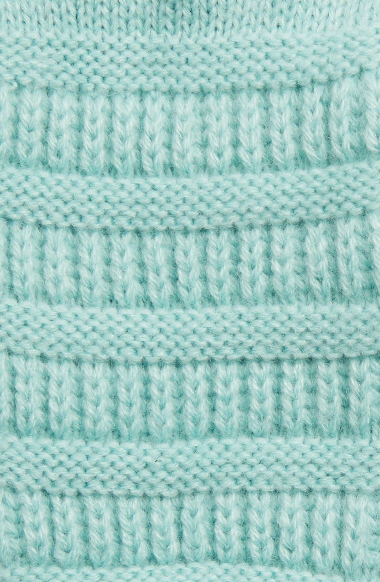 Rib Knit Tech Gloves,                             Alternate thumbnail 18, color,