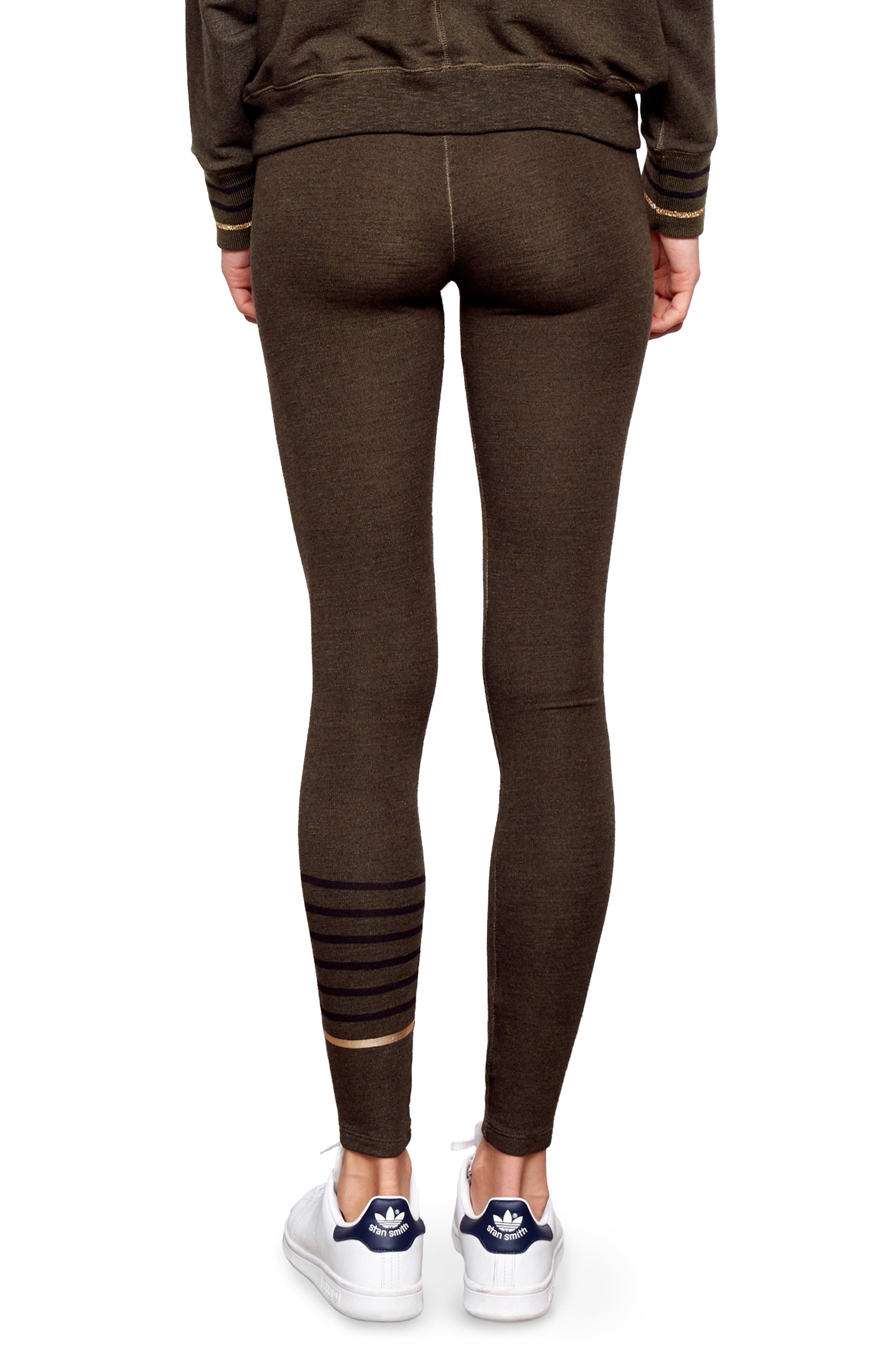 Stripe Yoga Pants,                             Alternate thumbnail 2, color,                             301