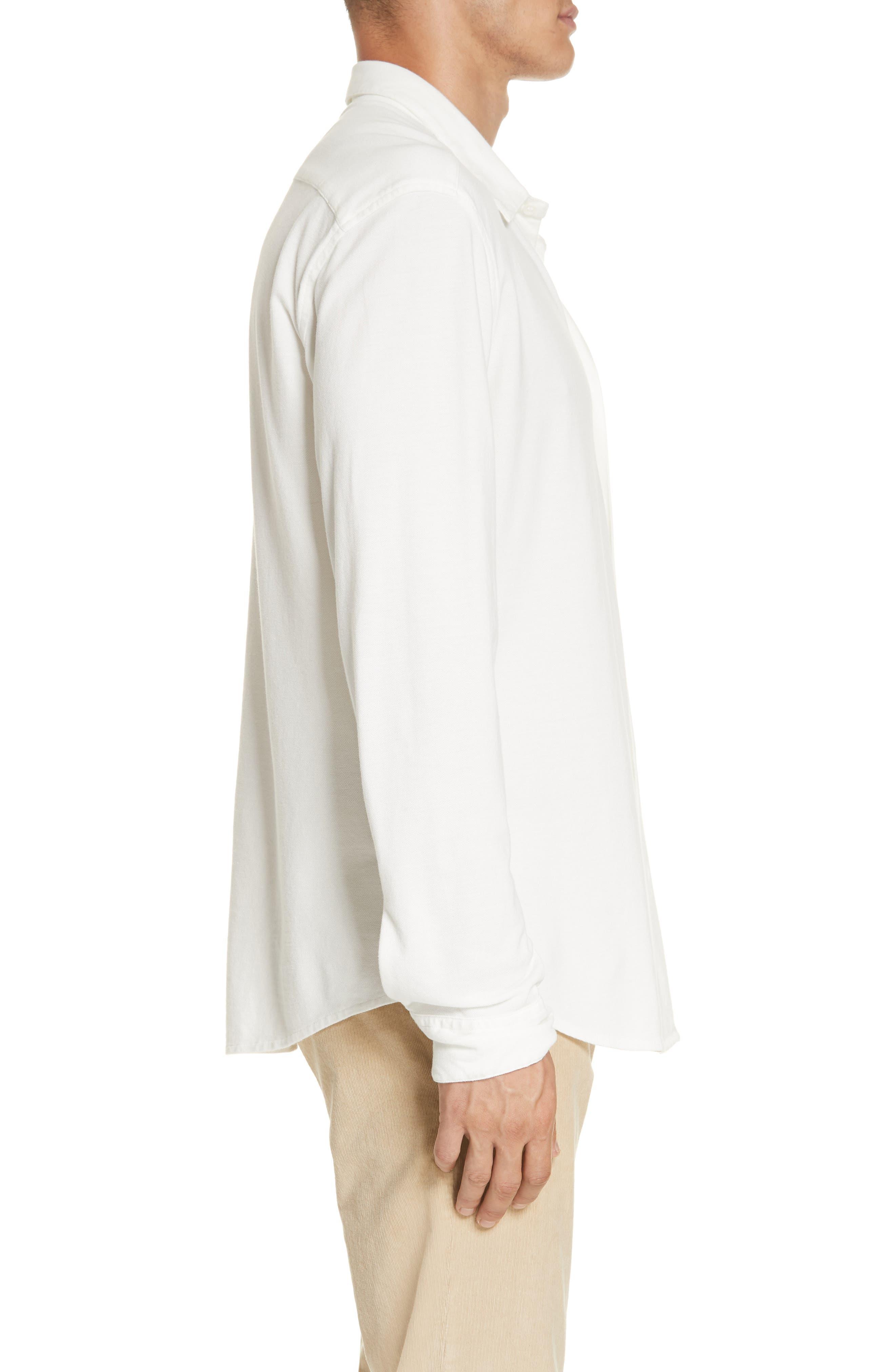 Coppi Tamiso Sport Shirt,                             Alternate thumbnail 3, color,                             WHITE