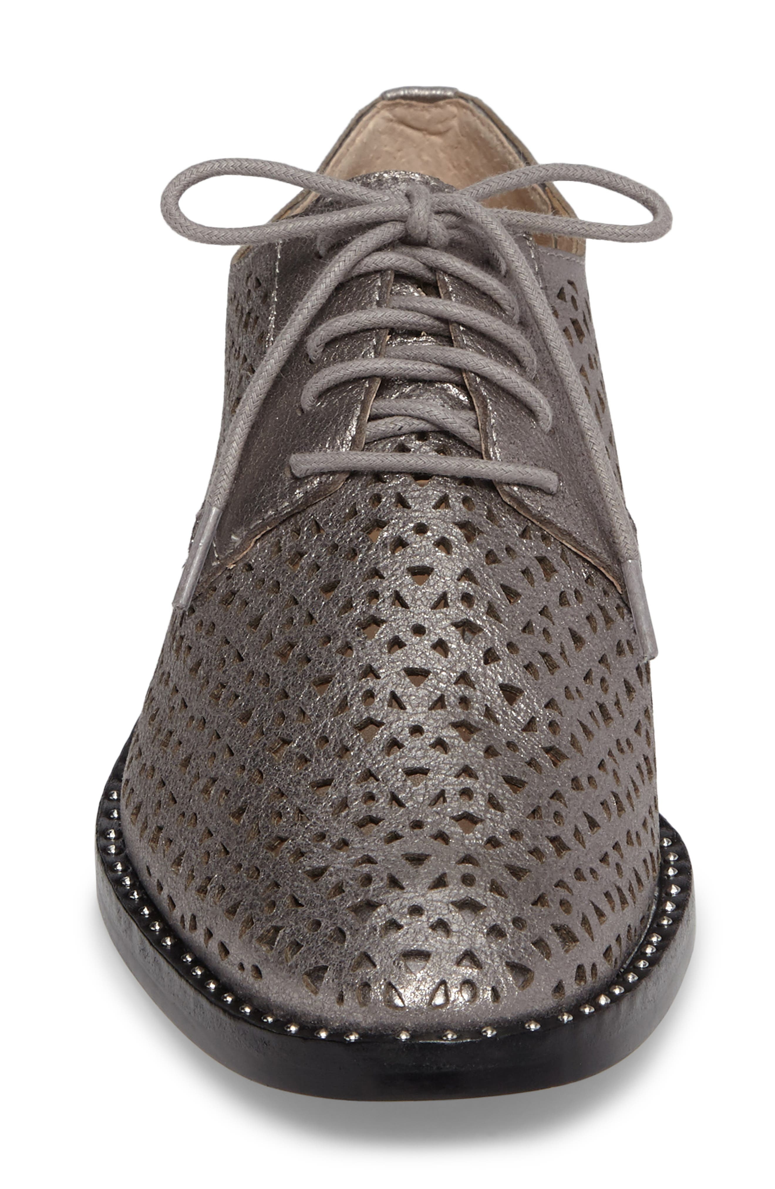 Lesta Geo Perforated Oxford,                             Alternate thumbnail 18, color,