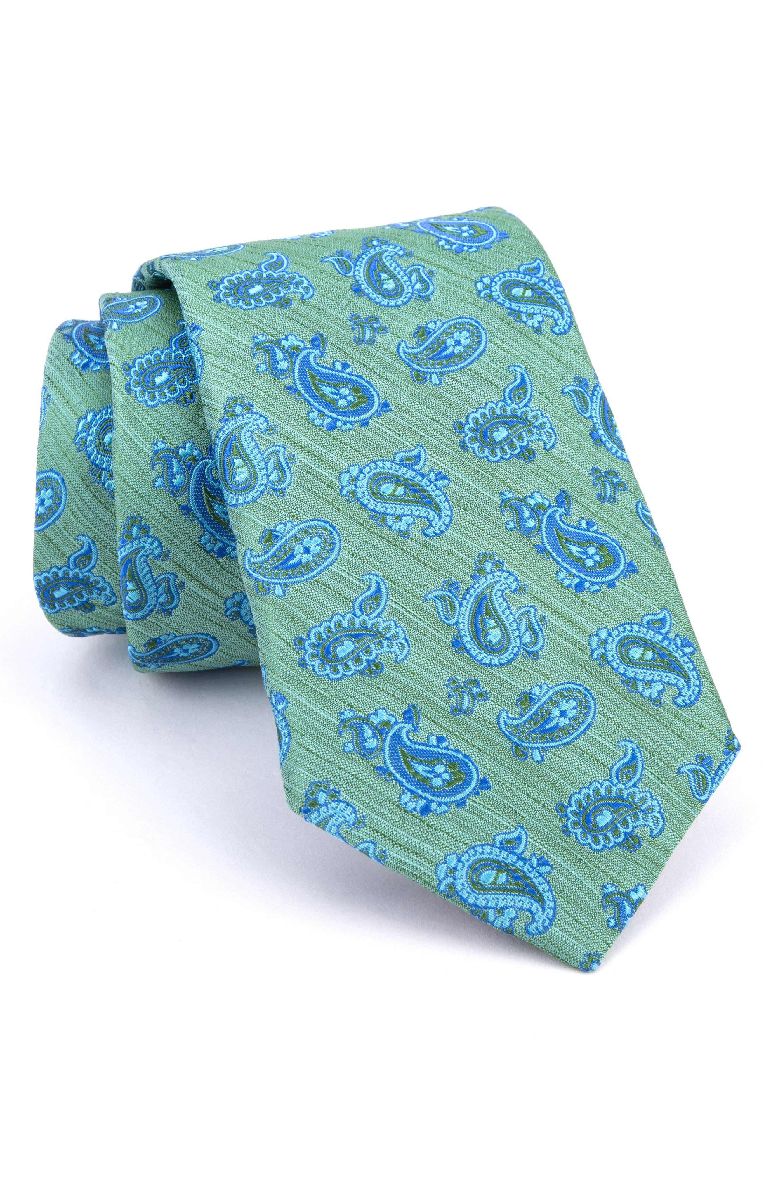 Marvelous Paisley Silk Tie,                         Main,                         color,