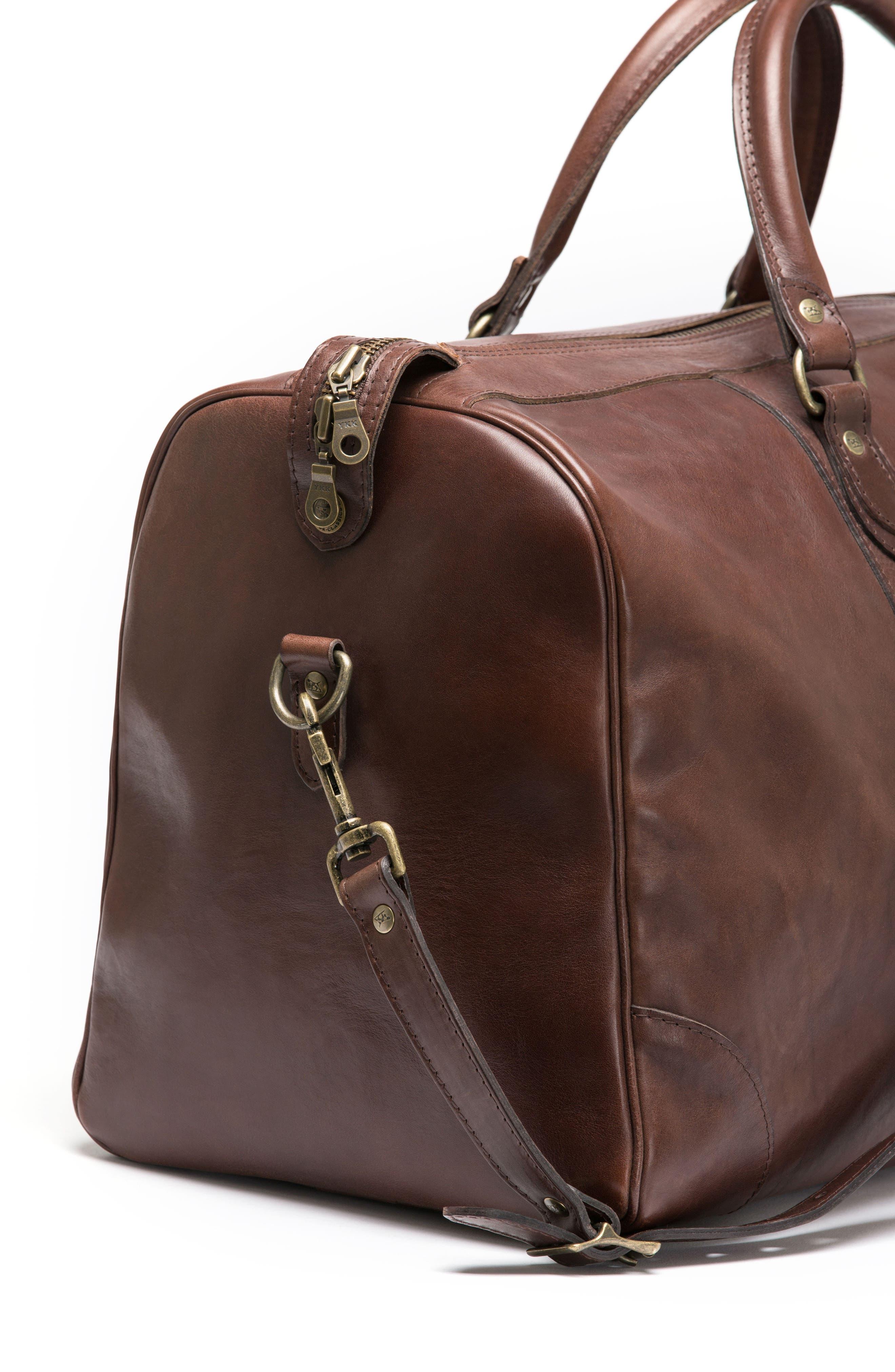 RODD & GUNN,                             Leather Duffel Bag,                             Alternate thumbnail 4, color,                             216
