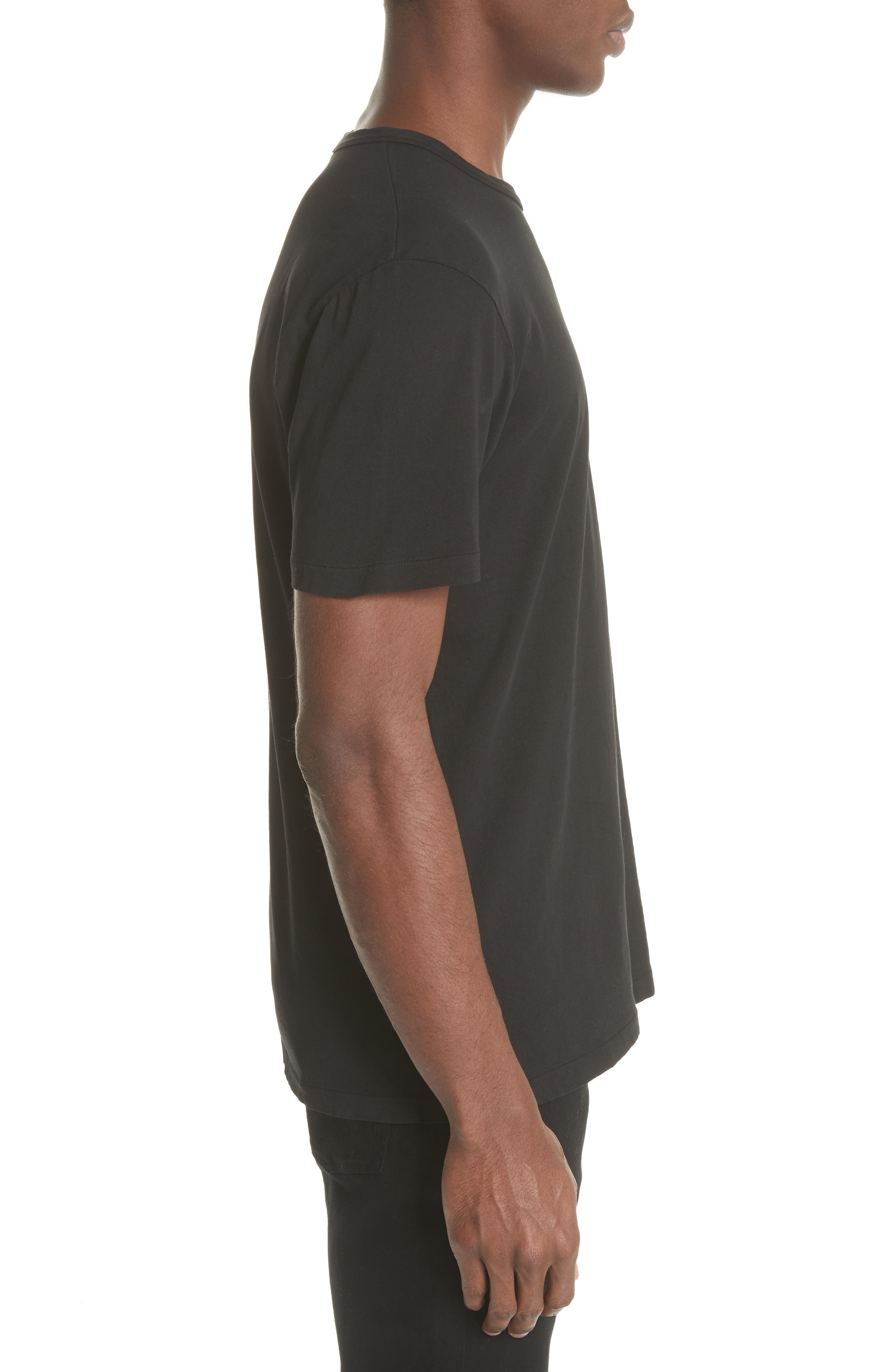 Perfect T-Shirt,                             Alternate thumbnail 3, color,                             001