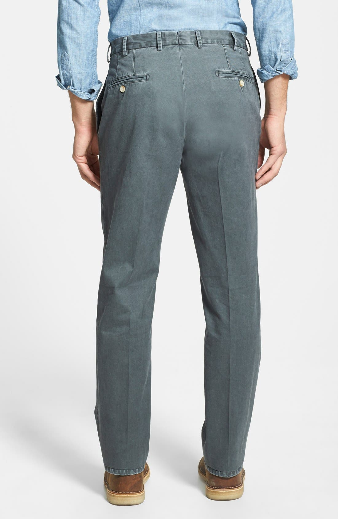 Garment Washed Twill Pants,                             Alternate thumbnail 71, color,