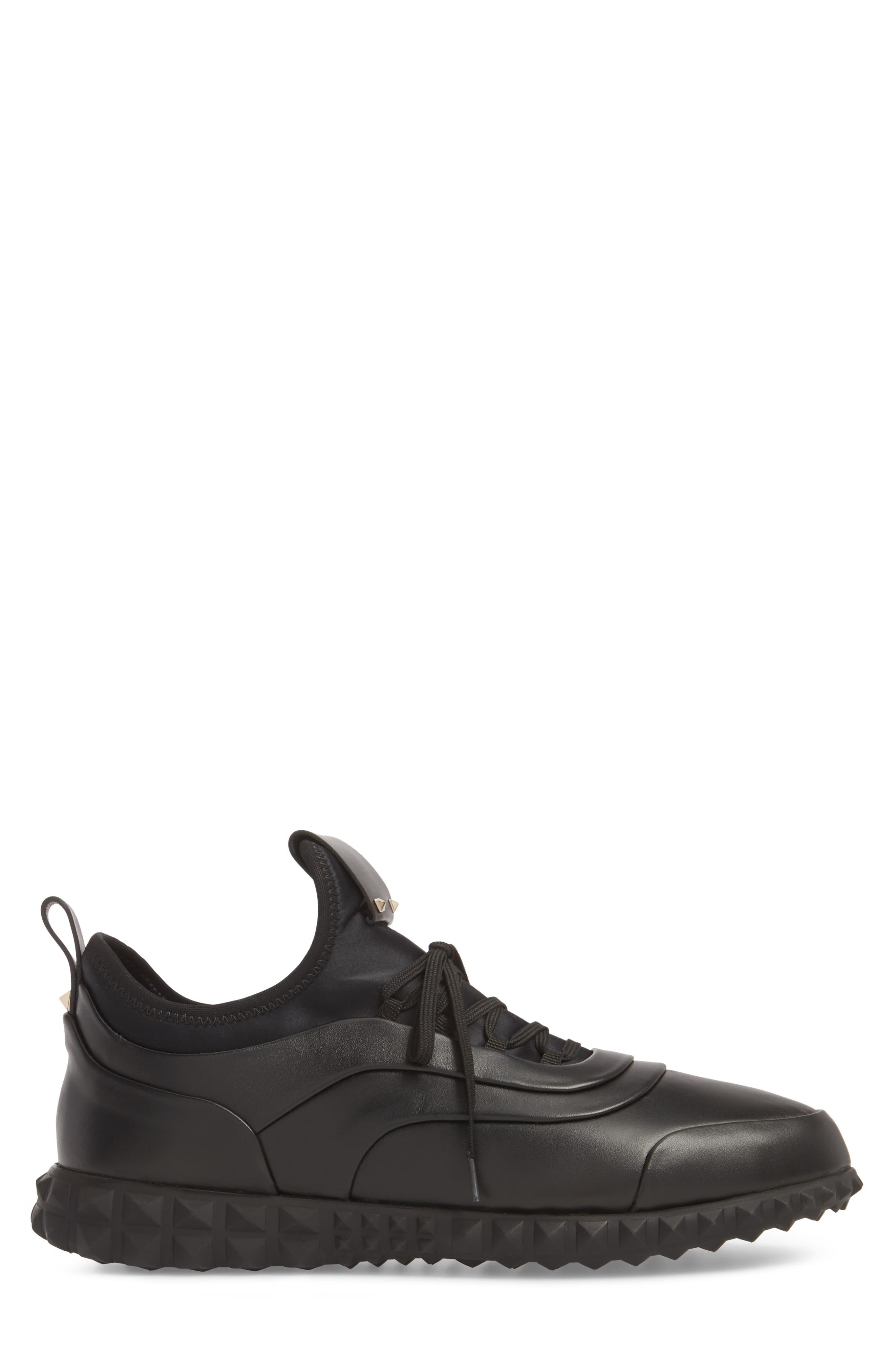 Bodytech Sneaker,                             Alternate thumbnail 3, color,                             BLACK/ BLACK
