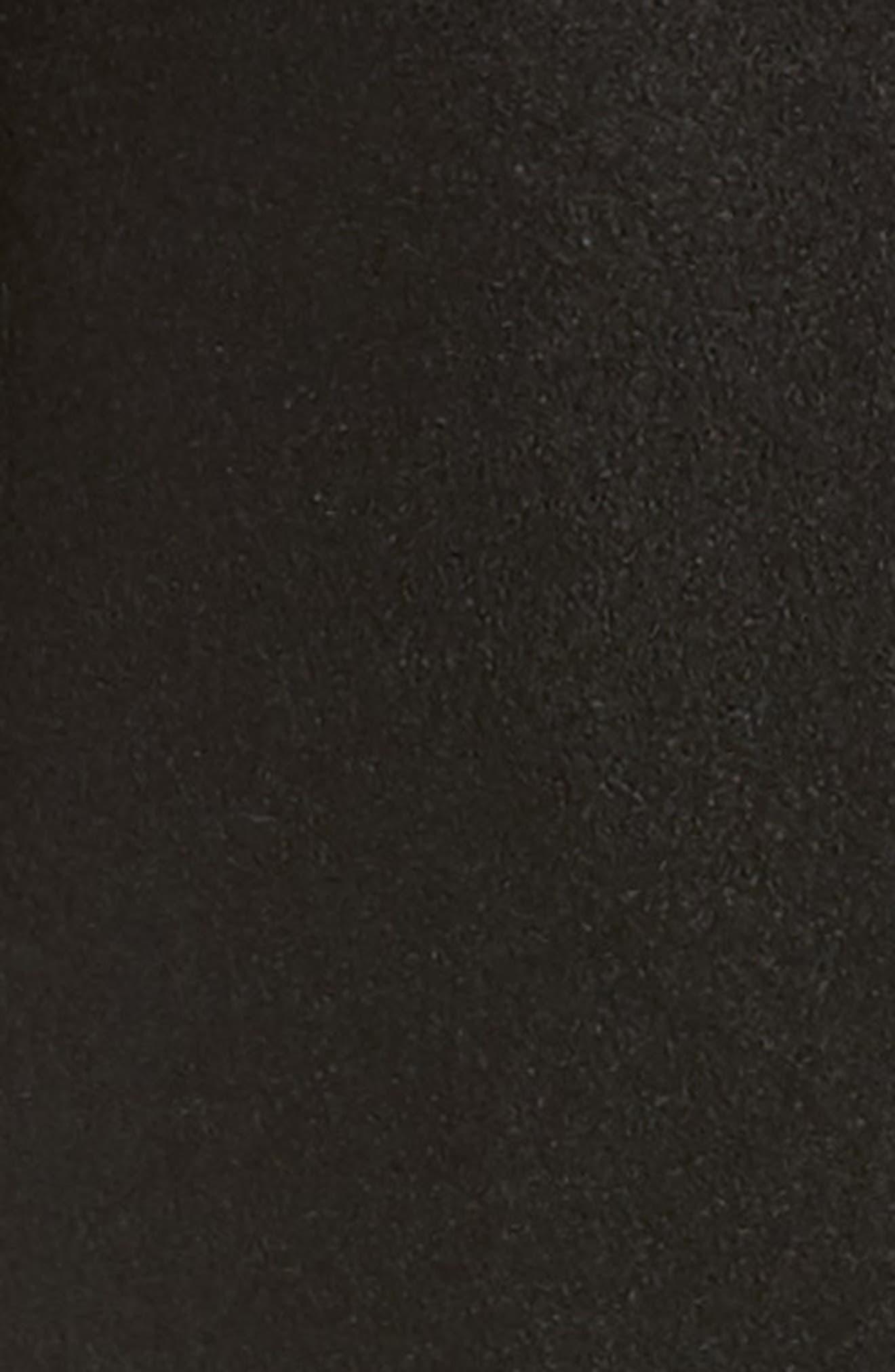 Emily Boiled Wool Blend Duster Coat,                             Alternate thumbnail 6, color,                             001