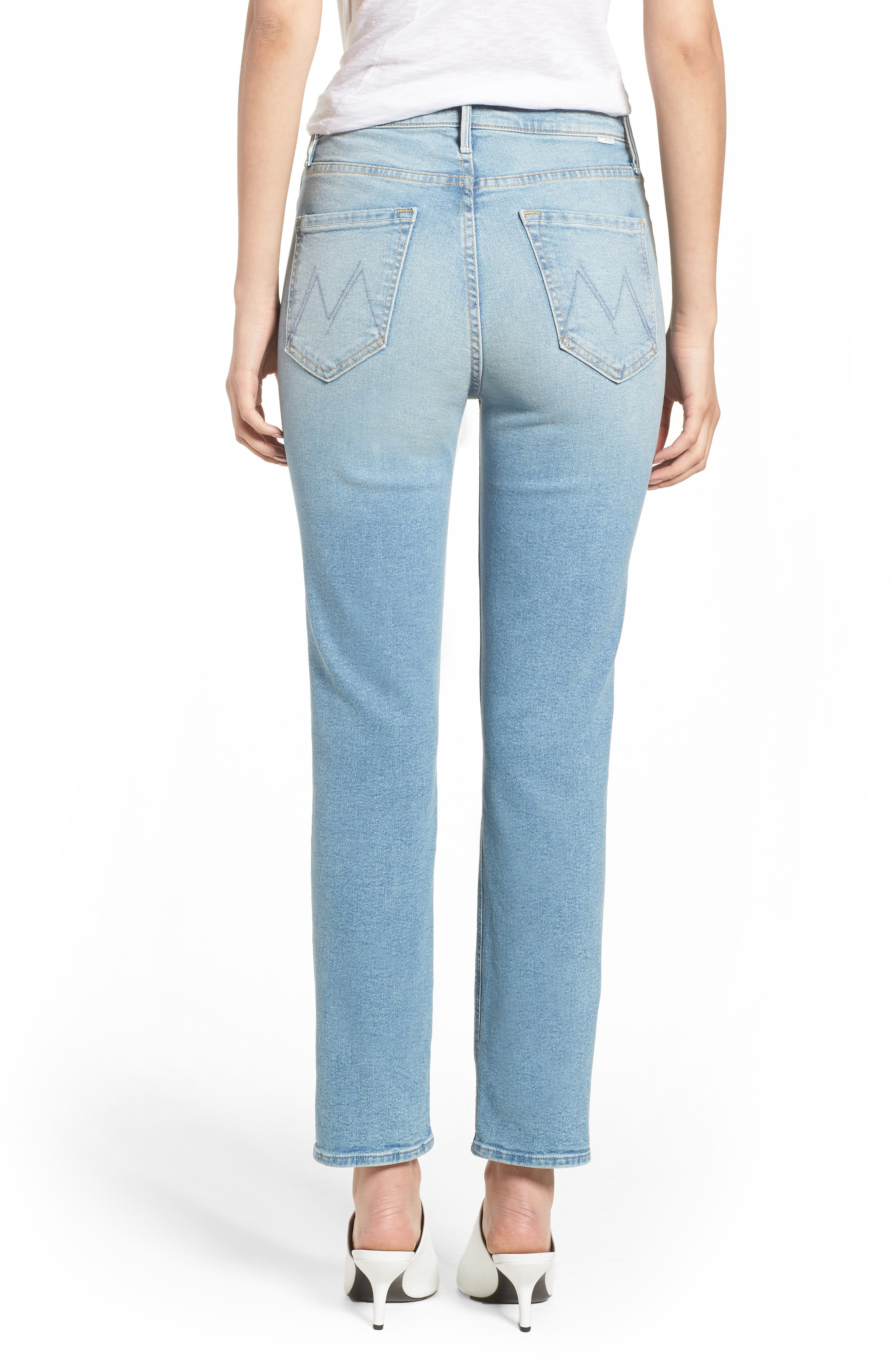 The Dazzler Ankle Straight Leg Jeans,                             Alternate thumbnail 2, color,                             READY TO ROLL