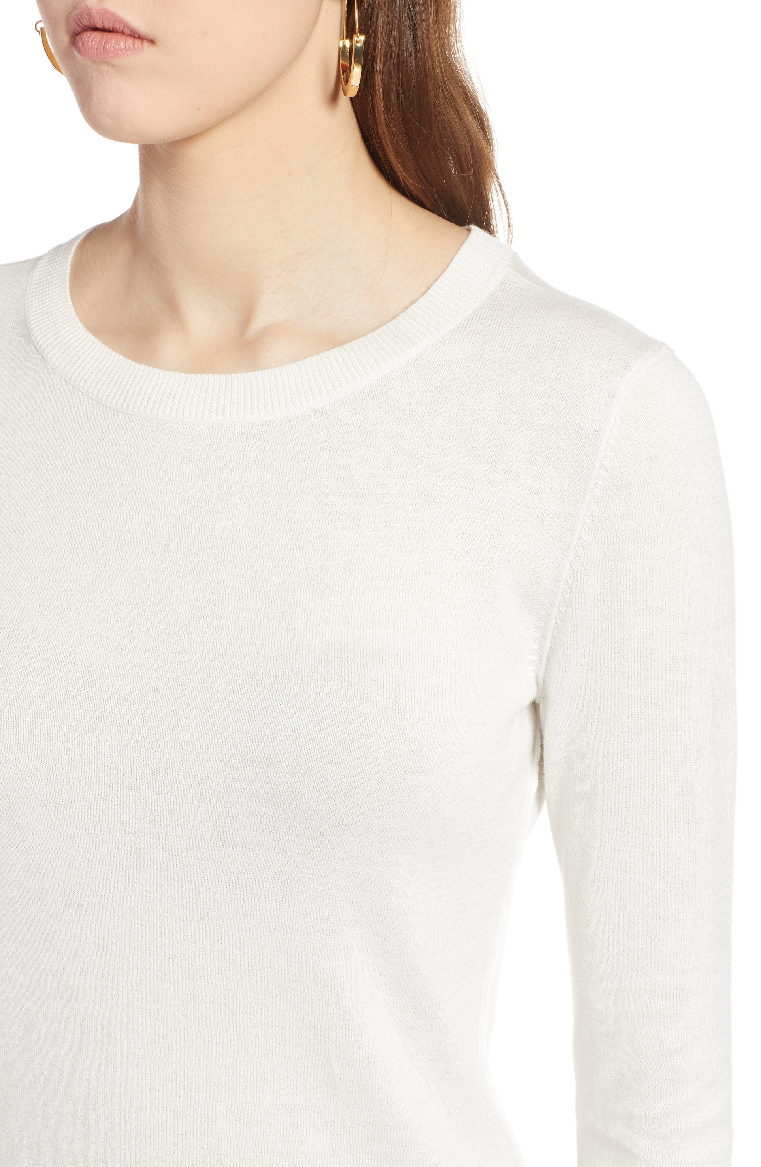 Cotton Blend Pullover,                             Alternate thumbnail 96, color,