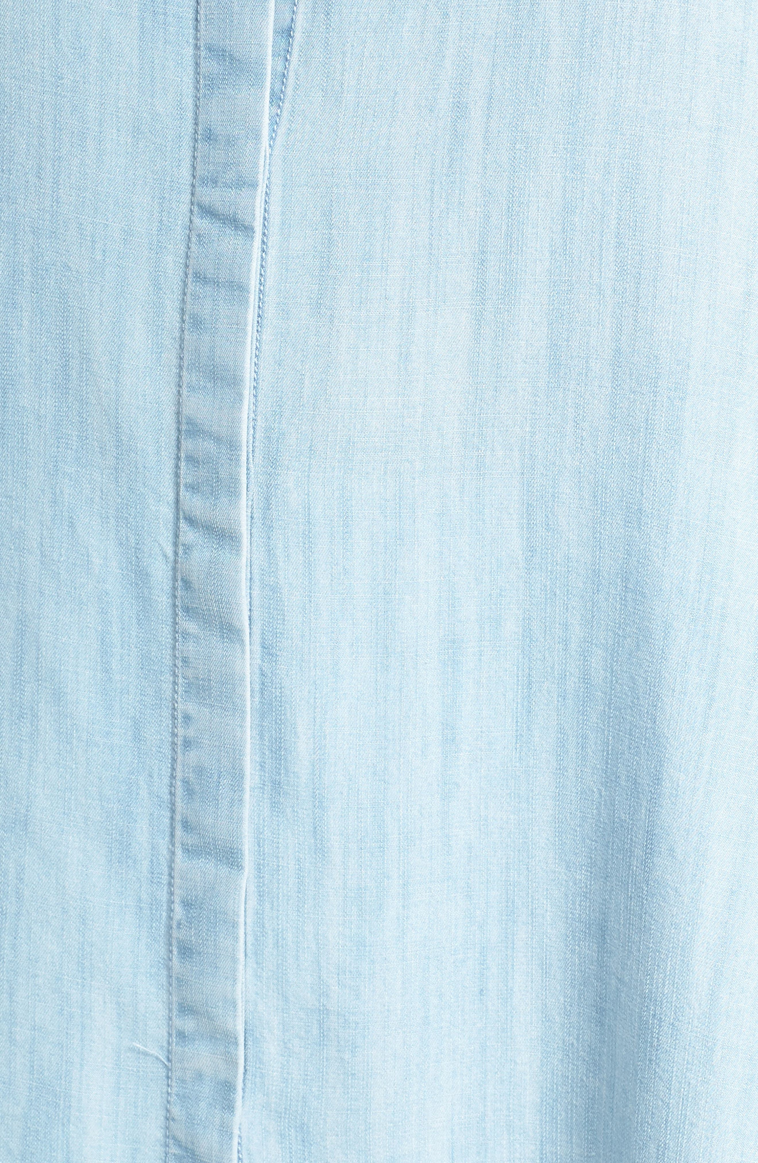 Chambray Tunic,                             Alternate thumbnail 18, color,