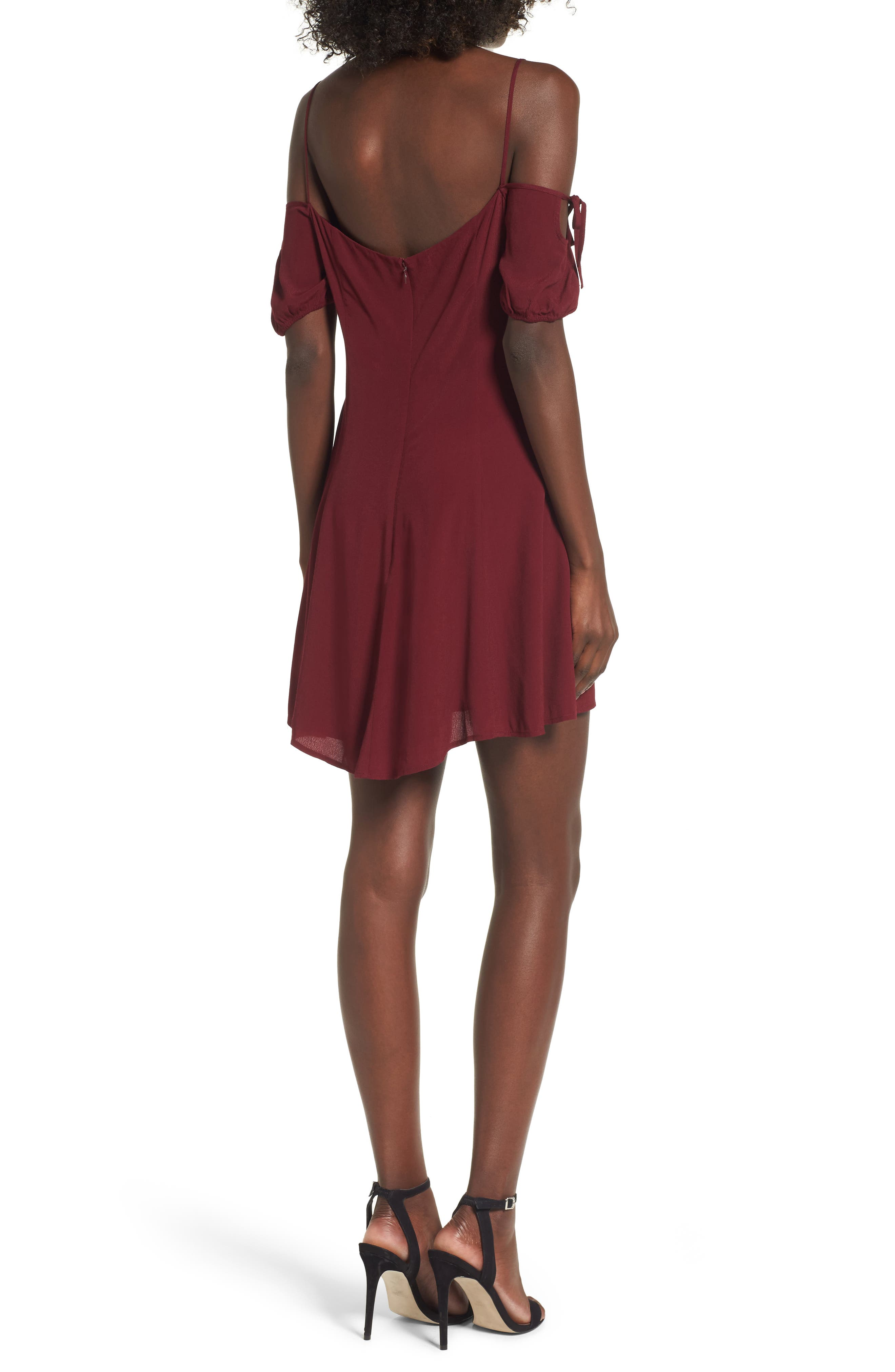 Whisper Minidress,                             Alternate thumbnail 2, color,                             930