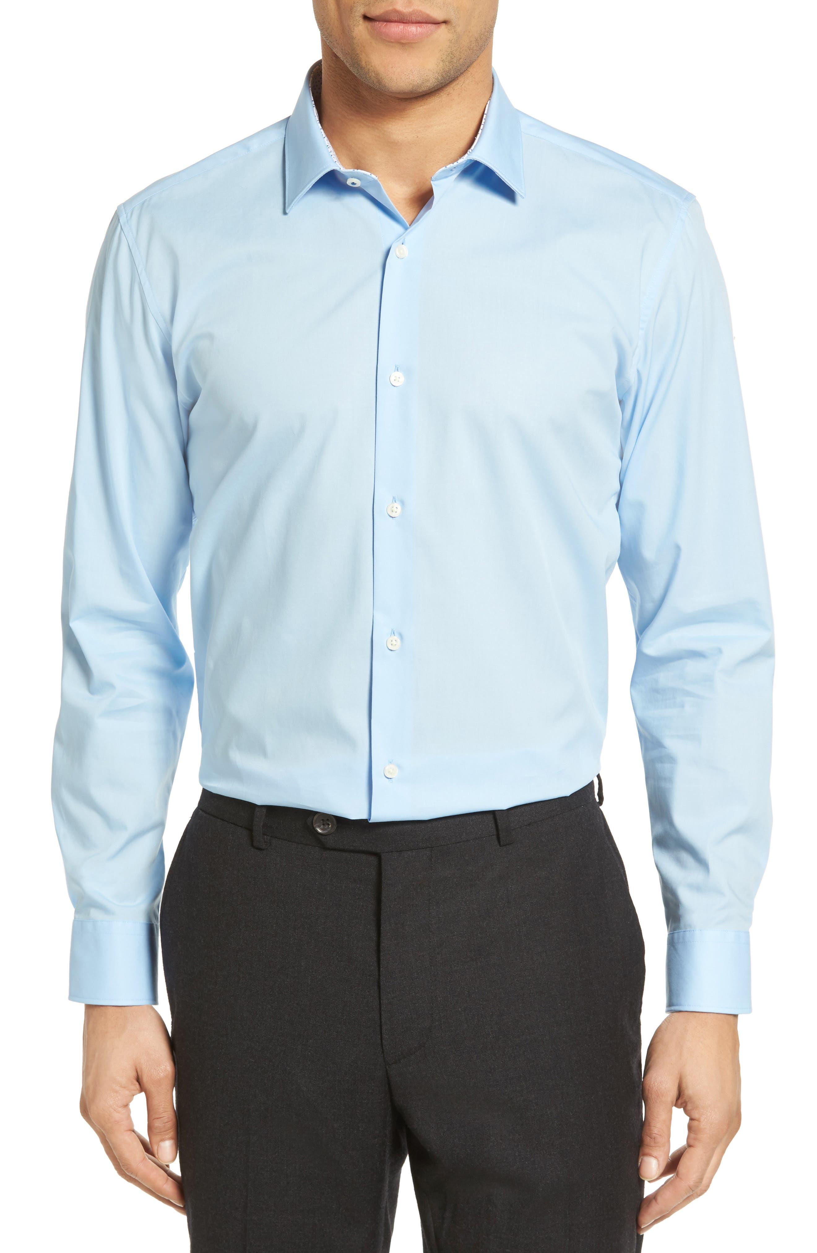 Booker Slim Fit Dress Shirt,                             Main thumbnail 2, color,