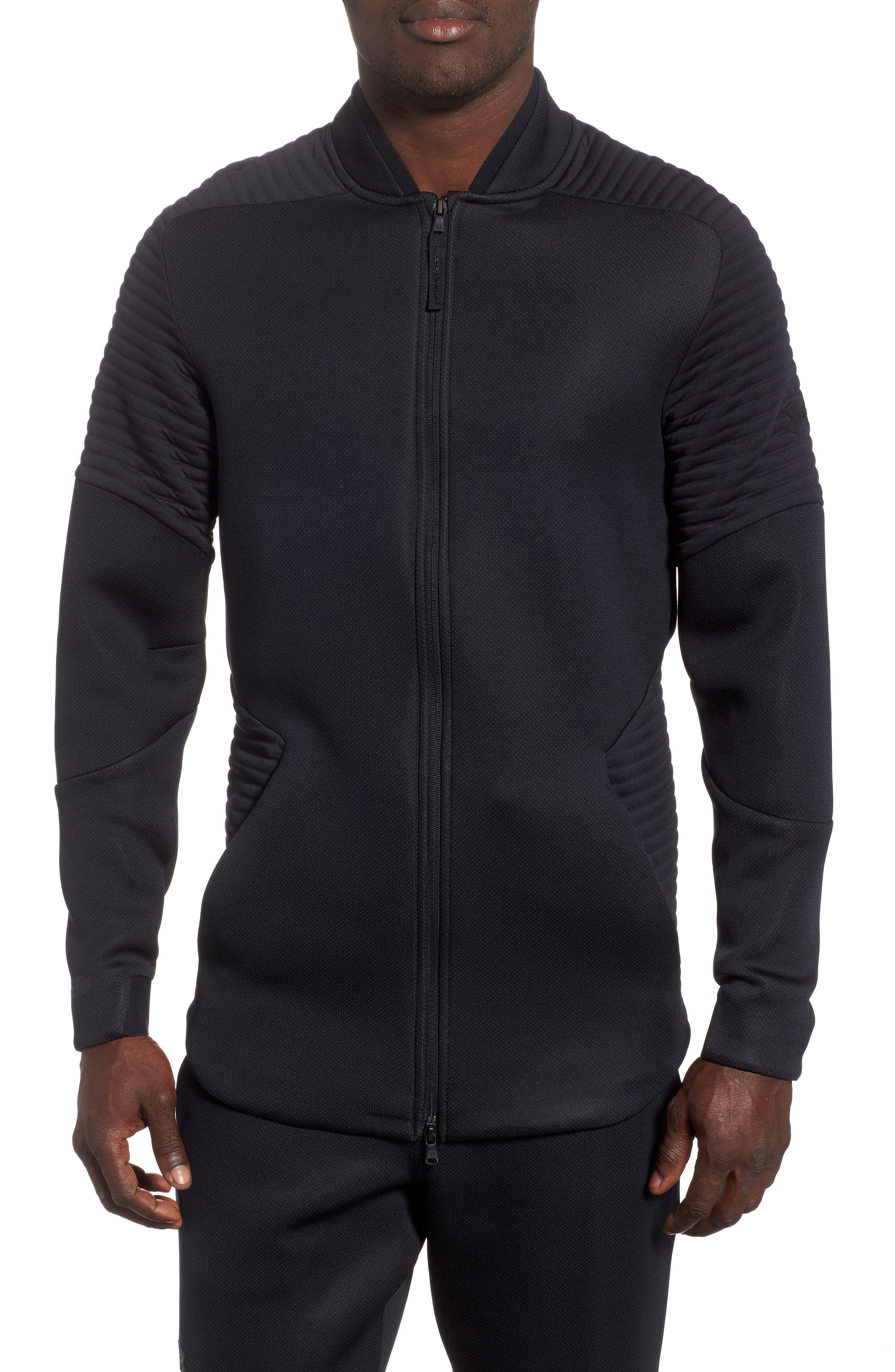 Unstoppable /MOVE Jacket,                             Main thumbnail 1, color,                             BLACK/ CHARCOAL/ BLACK