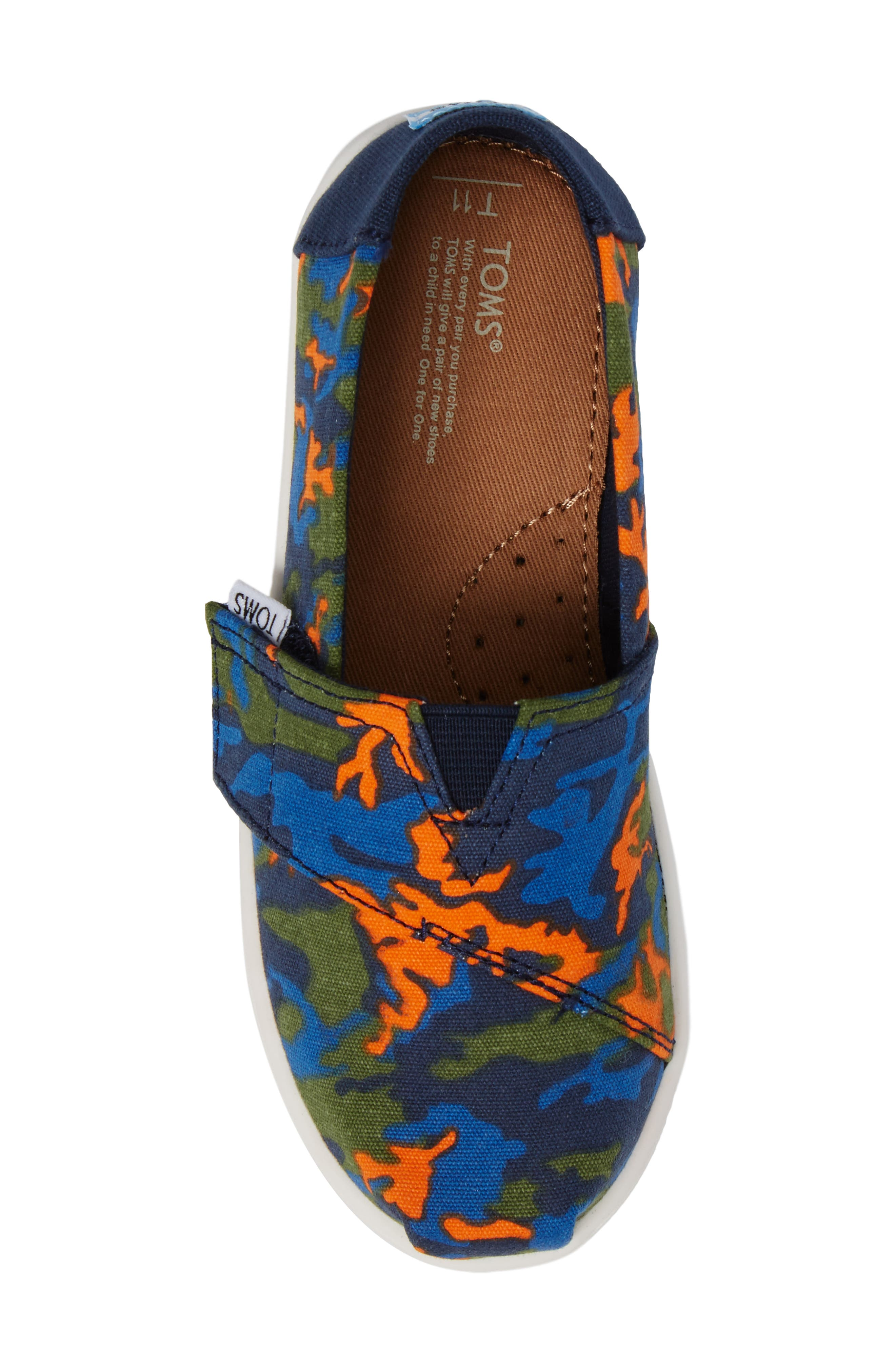 Tiny Alpargata Print Slip-On,                             Alternate thumbnail 25, color,
