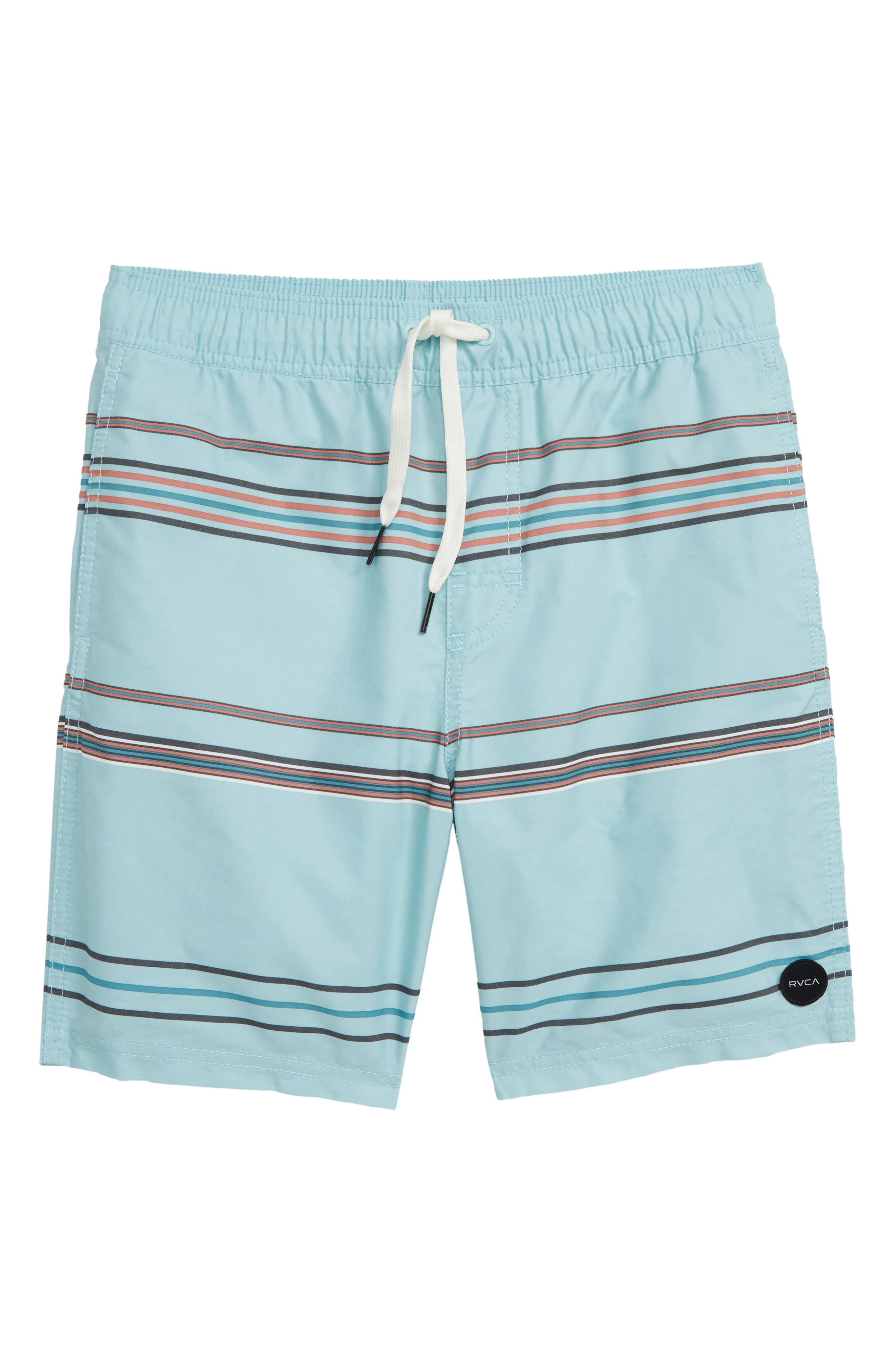 RVCA Shattered Board Shorts, Main, color, ETHER BLUE