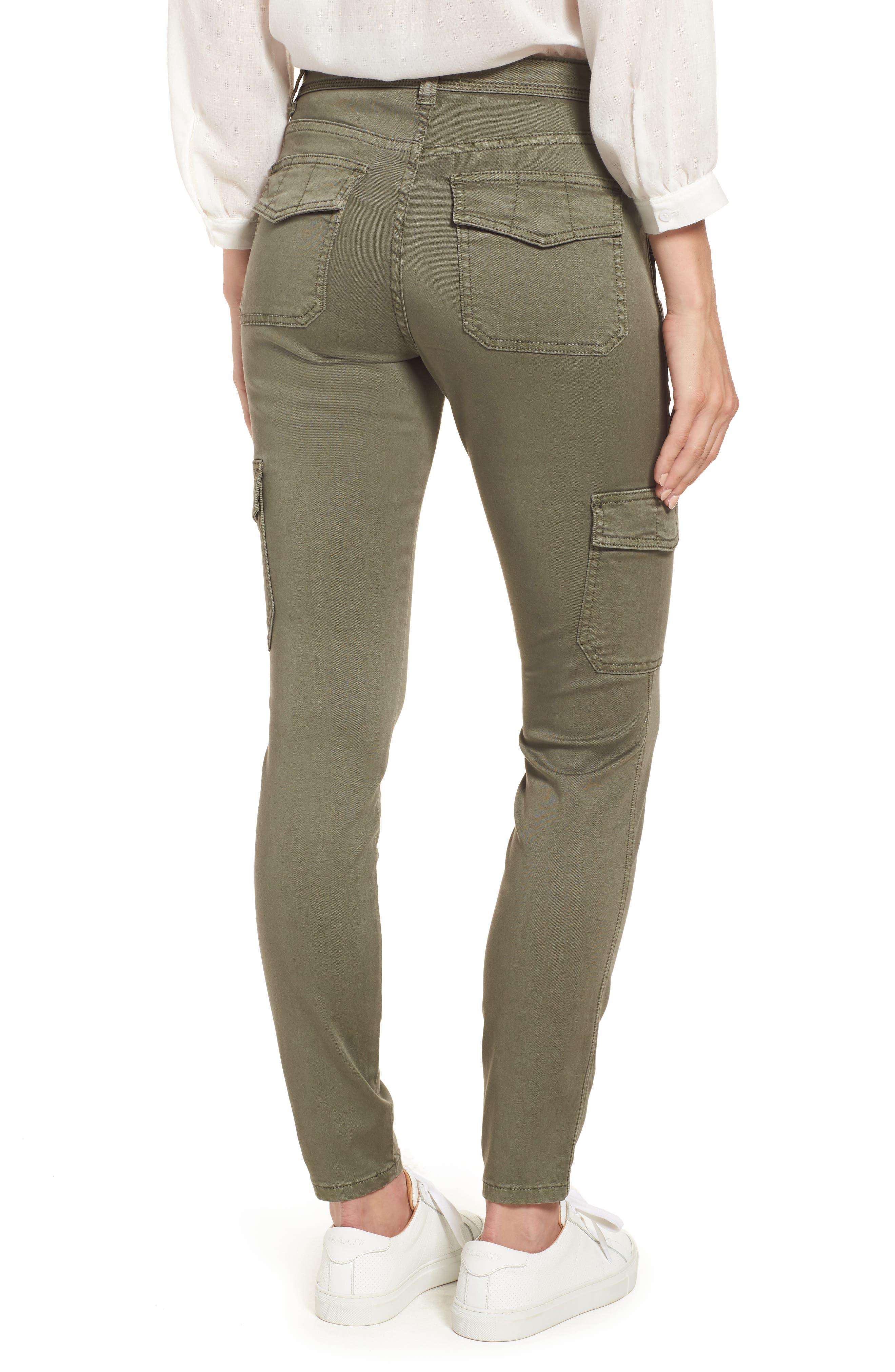 Utility Pants,                             Alternate thumbnail 2, color,                             GREEN BEETLE