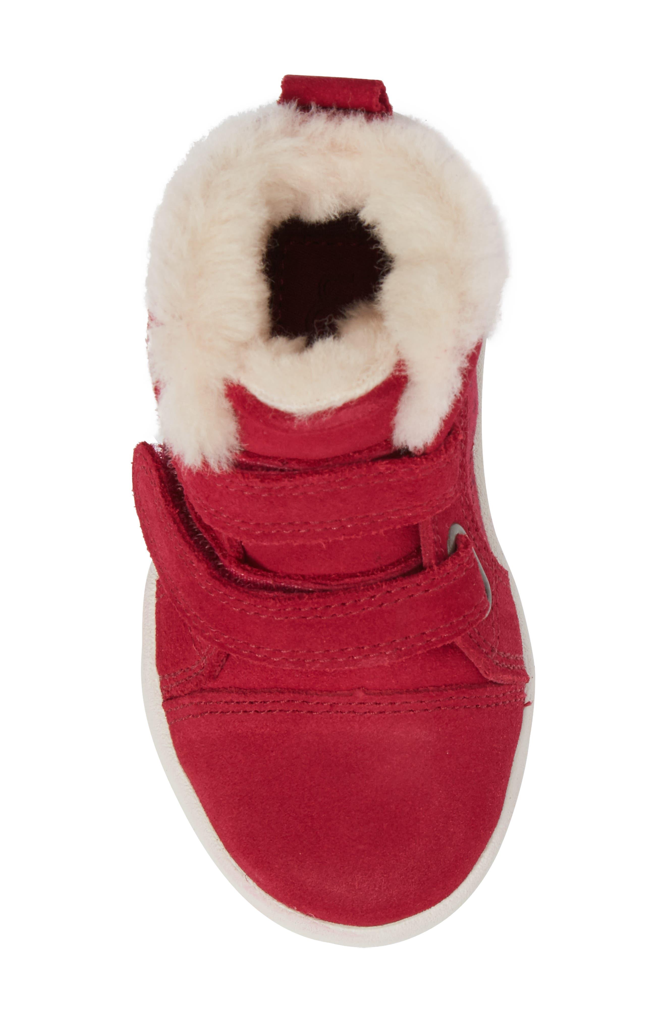Rennon Stars High Top Sneaker,                             Alternate thumbnail 5, color,                             650