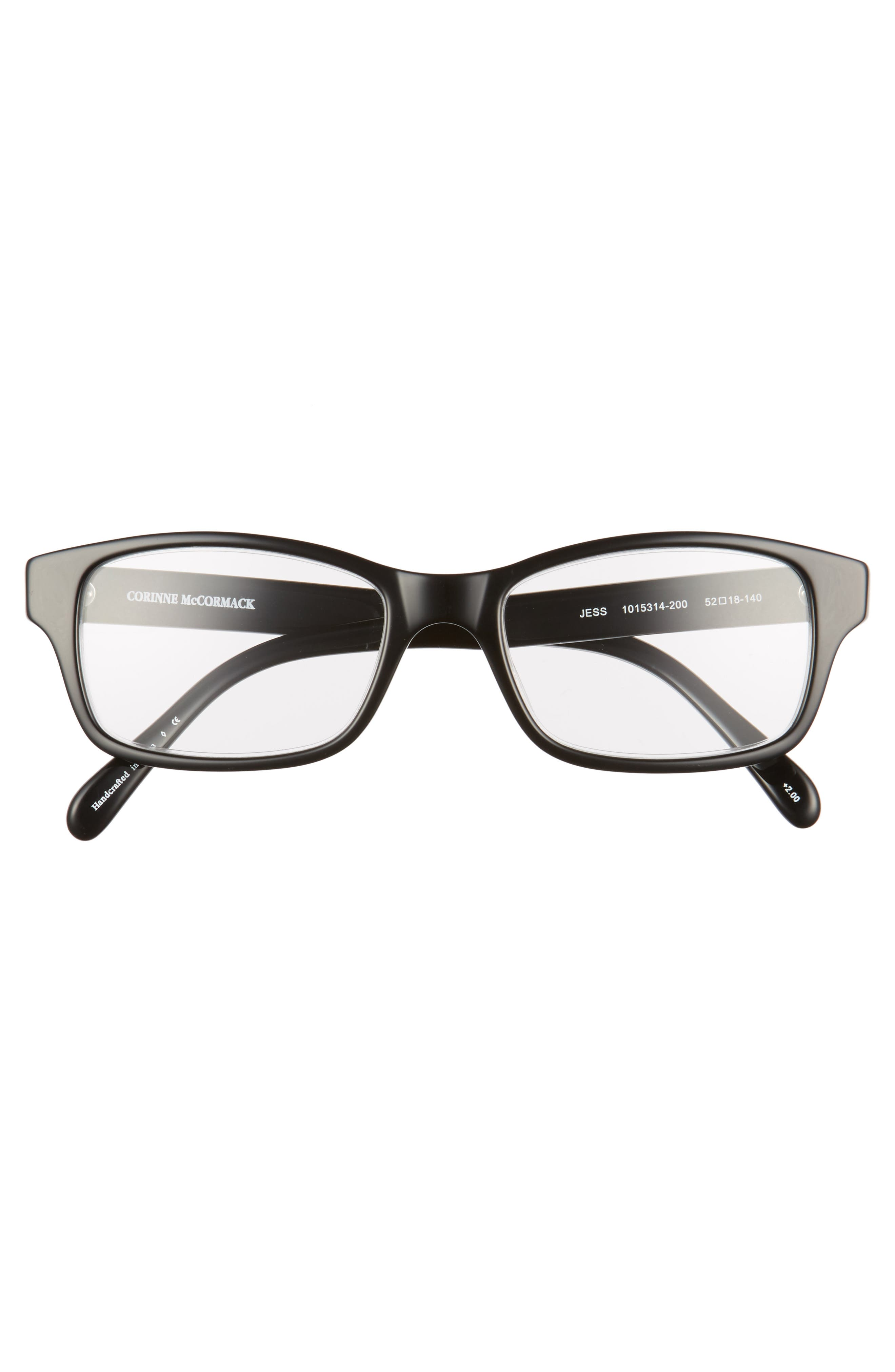 'Jess' 52mm Reading Glasses,                             Alternate thumbnail 3, color,                             001