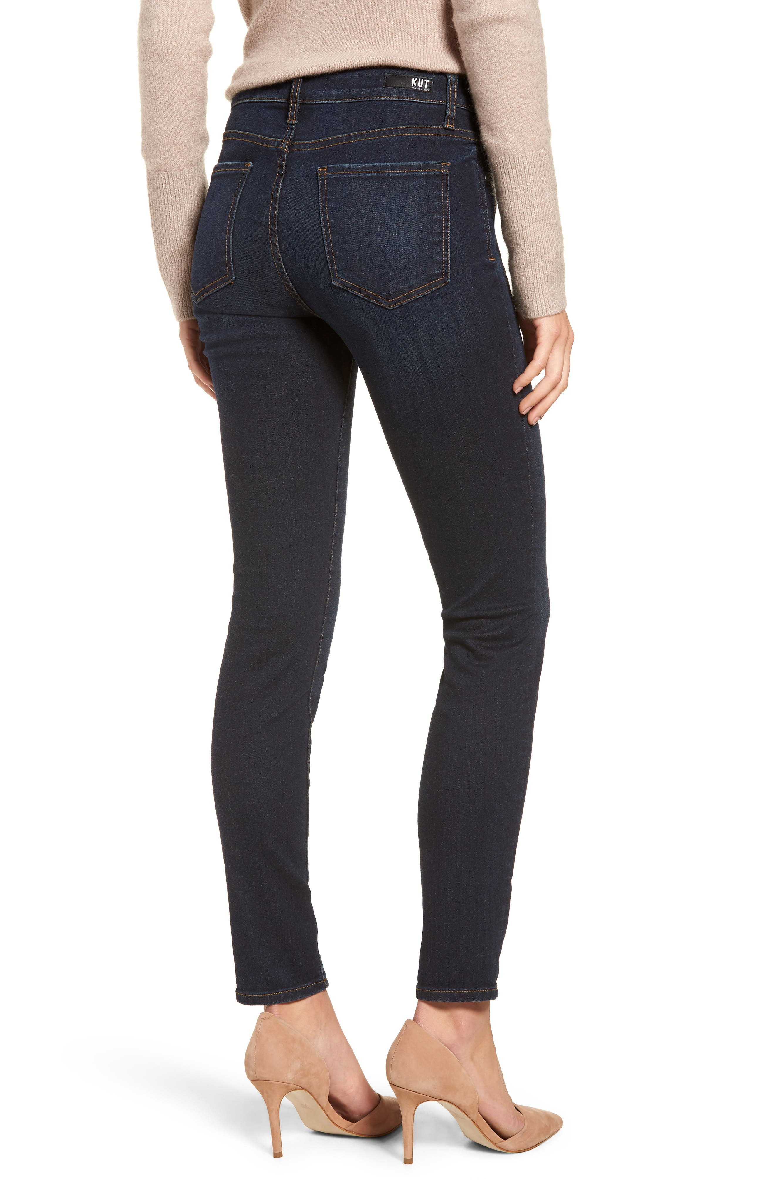 Diana Skinny Jeans,                             Alternate thumbnail 2, color,                             435