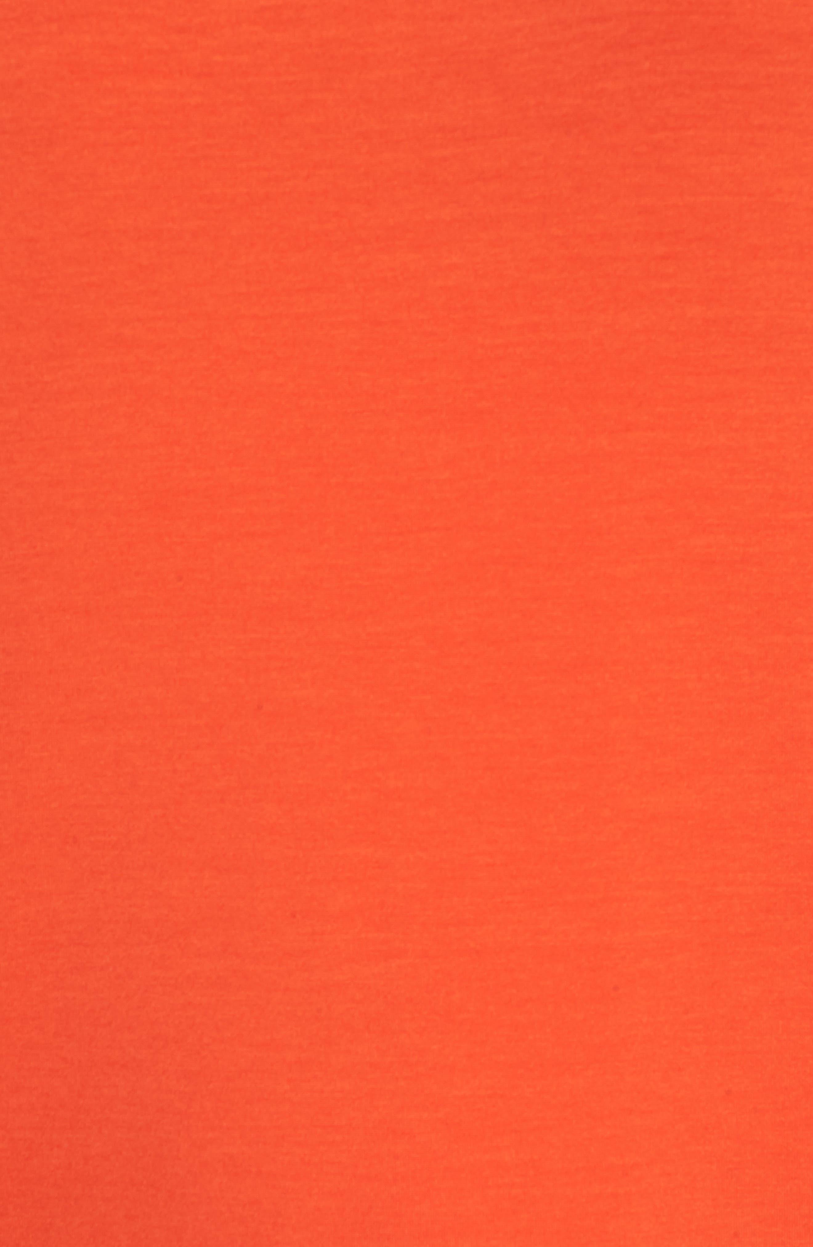V-Back Stretch Tencel<sup>®</sup> Lyocell Shift Dress,                             Alternate thumbnail 11, color,