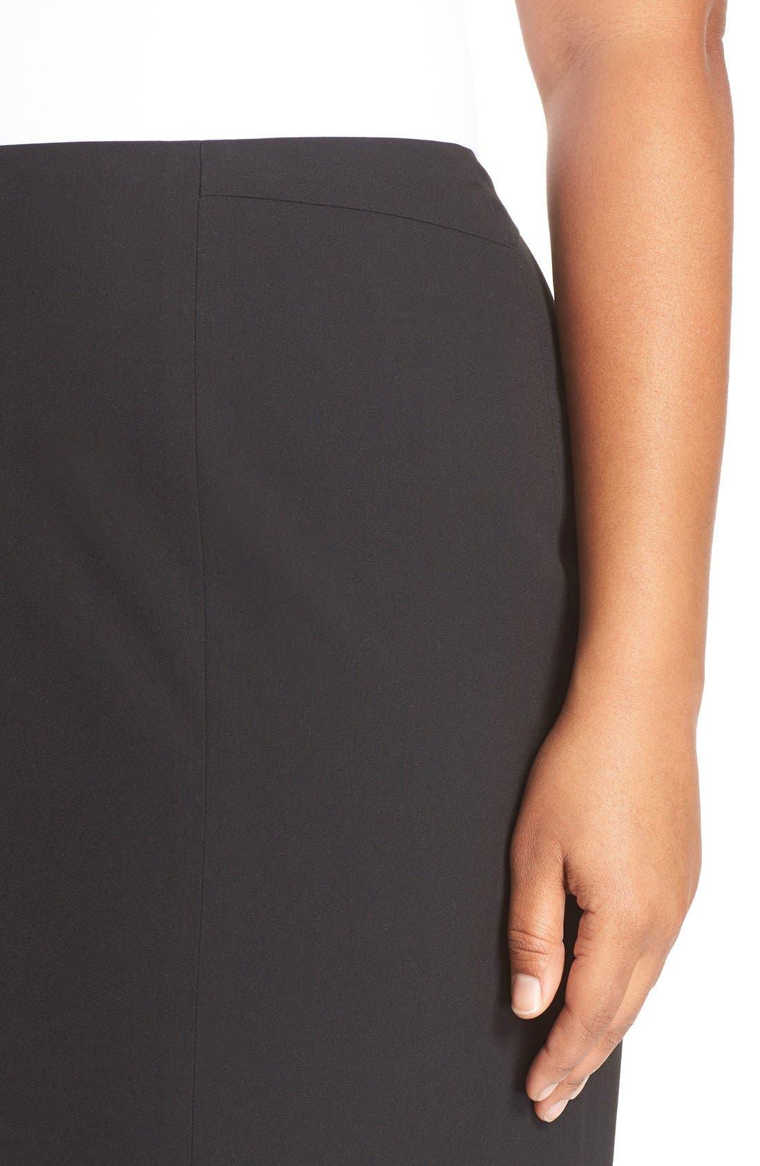 'Ela' Suit Skirt,                             Alternate thumbnail 4, color,                             001