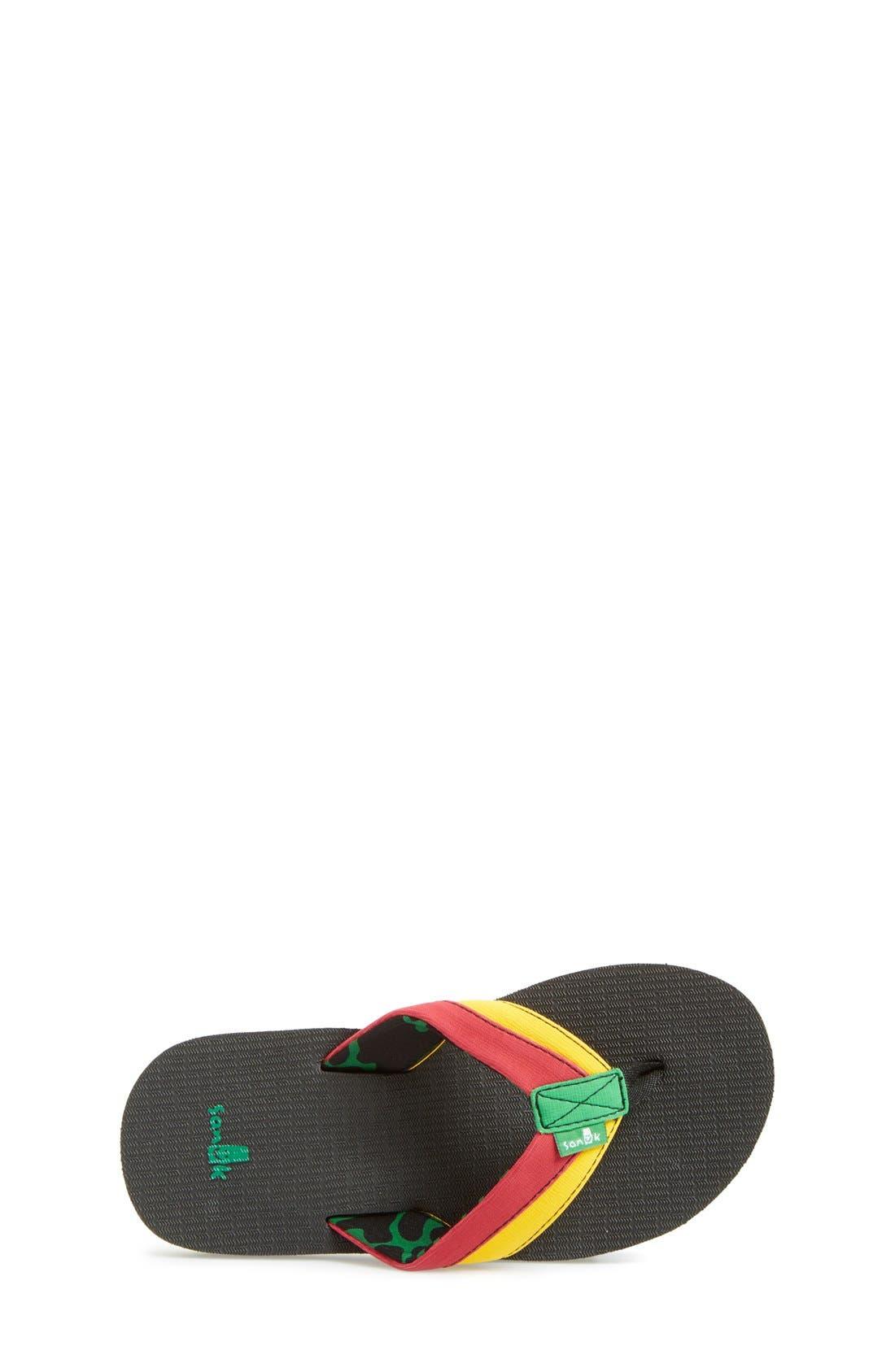 'Rootbeer Cozy' Lightweight Flip Flop Sandal,                             Alternate thumbnail 12, color,