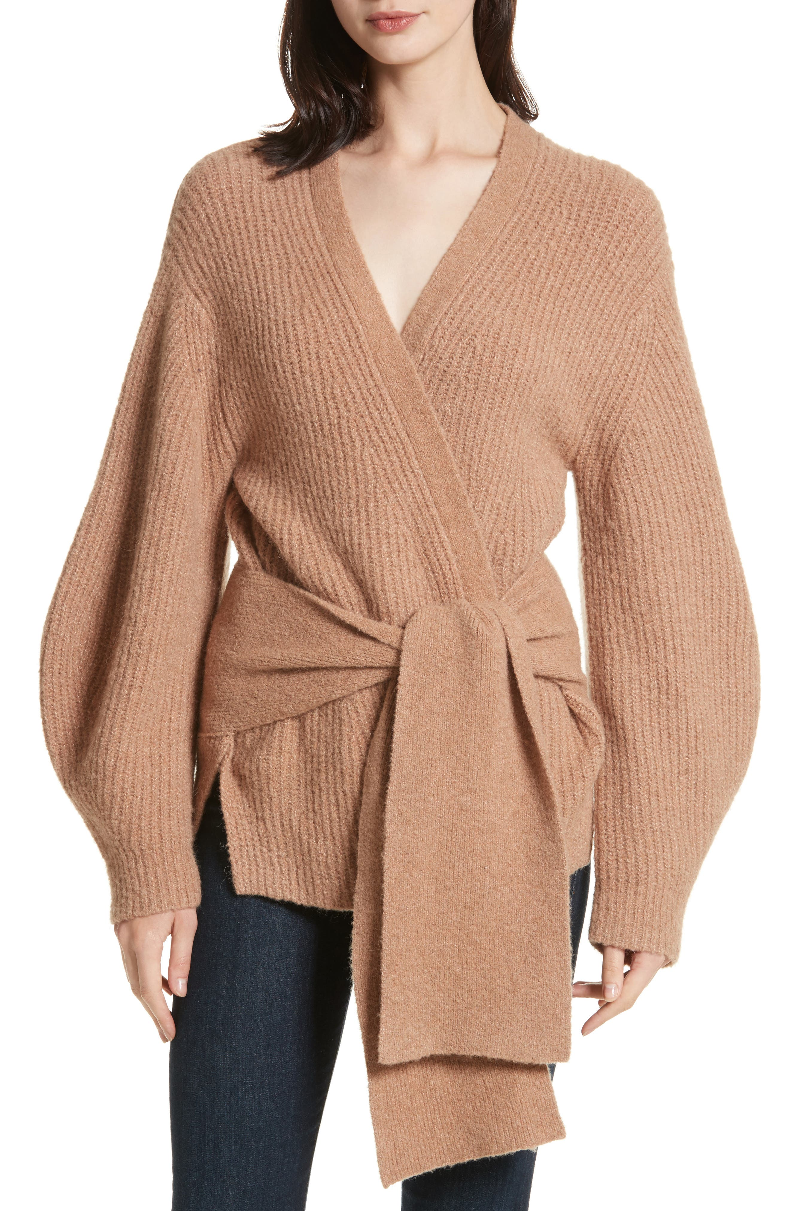 Hansen Belted Cardigan,                             Main thumbnail 1, color,                             020