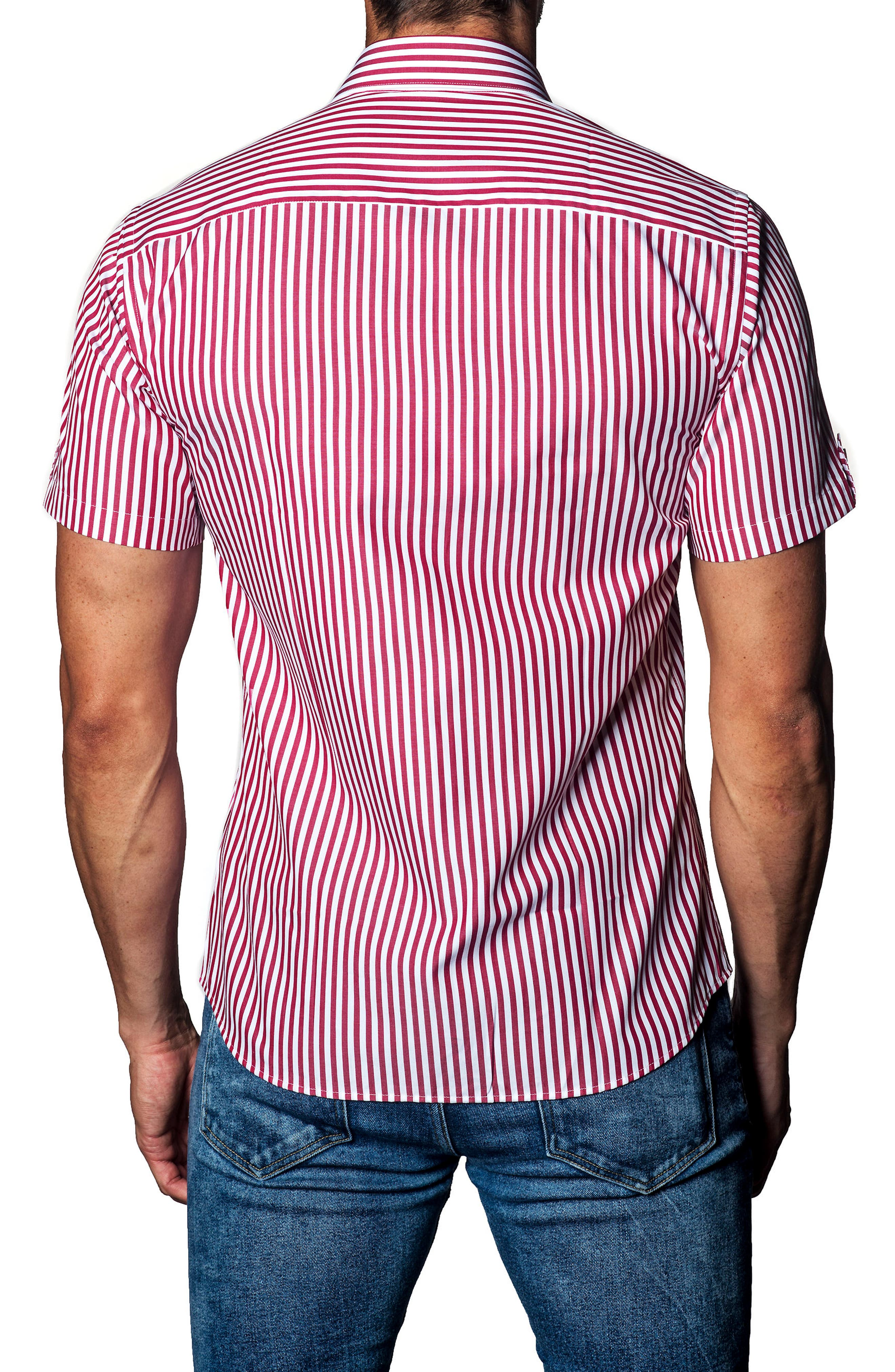 Stripe Sport Shirt,                             Alternate thumbnail 2, color,                             640